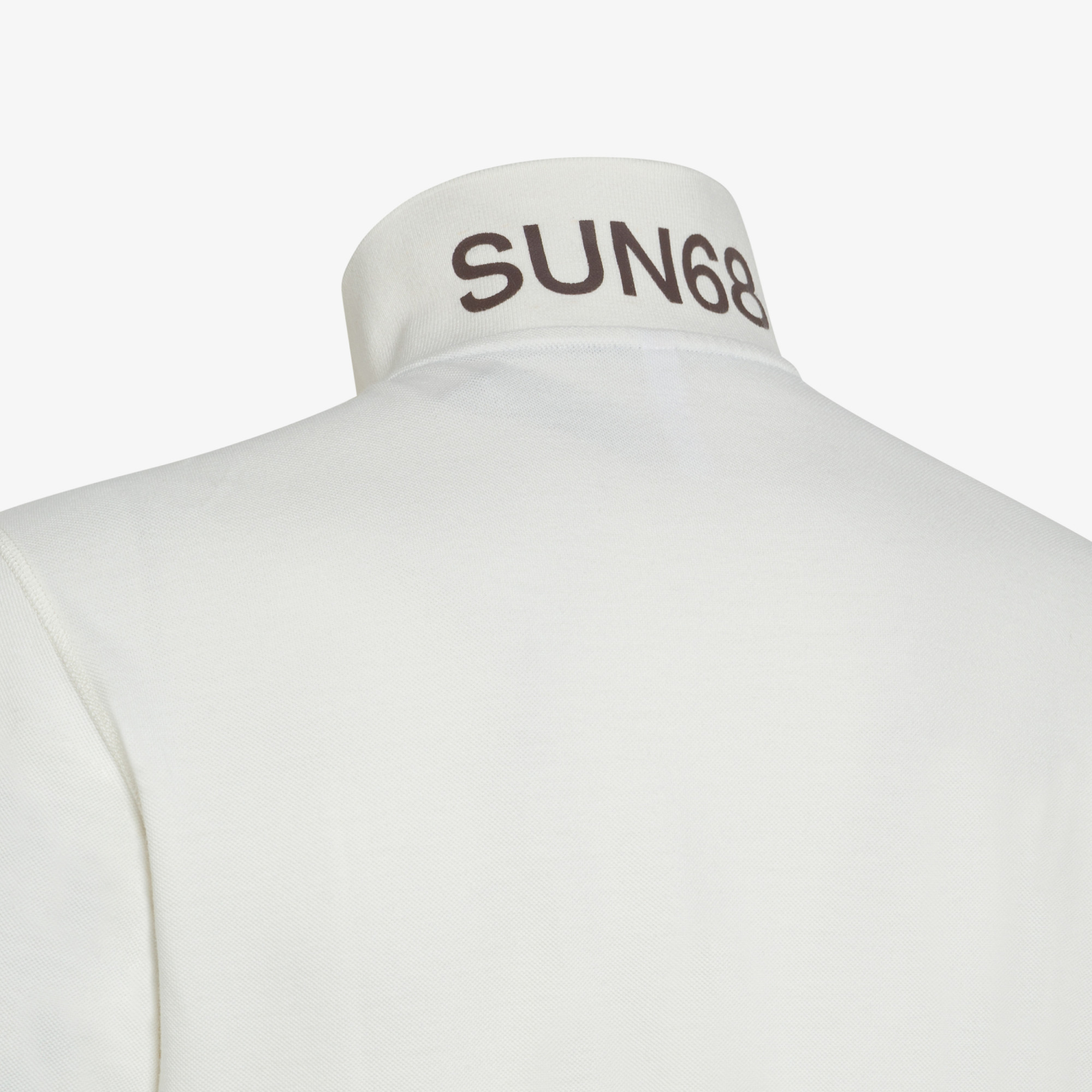 POLO VINTAGE CONTRAST STICHING S/S OFF WHITE