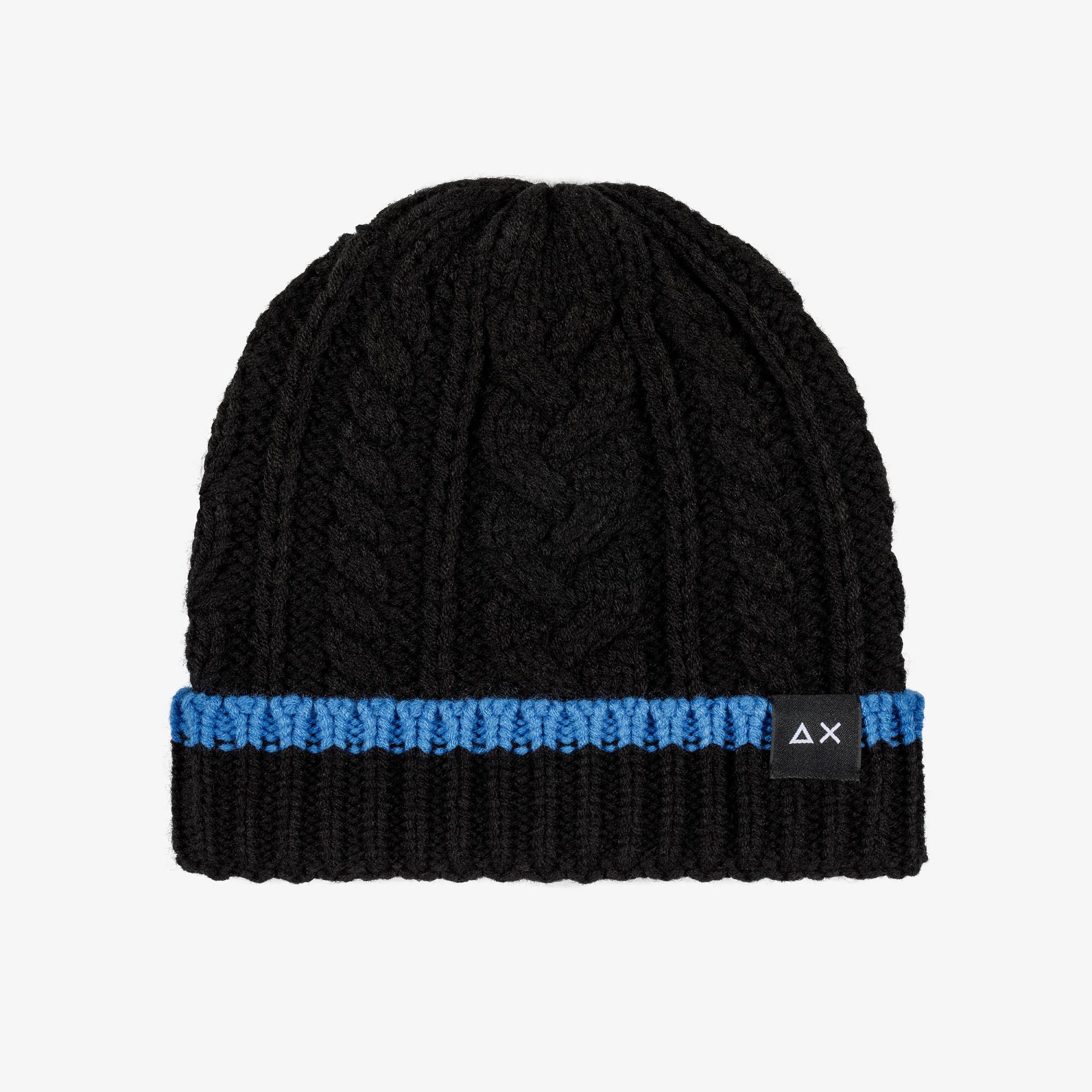 CAP CABLE BLACK