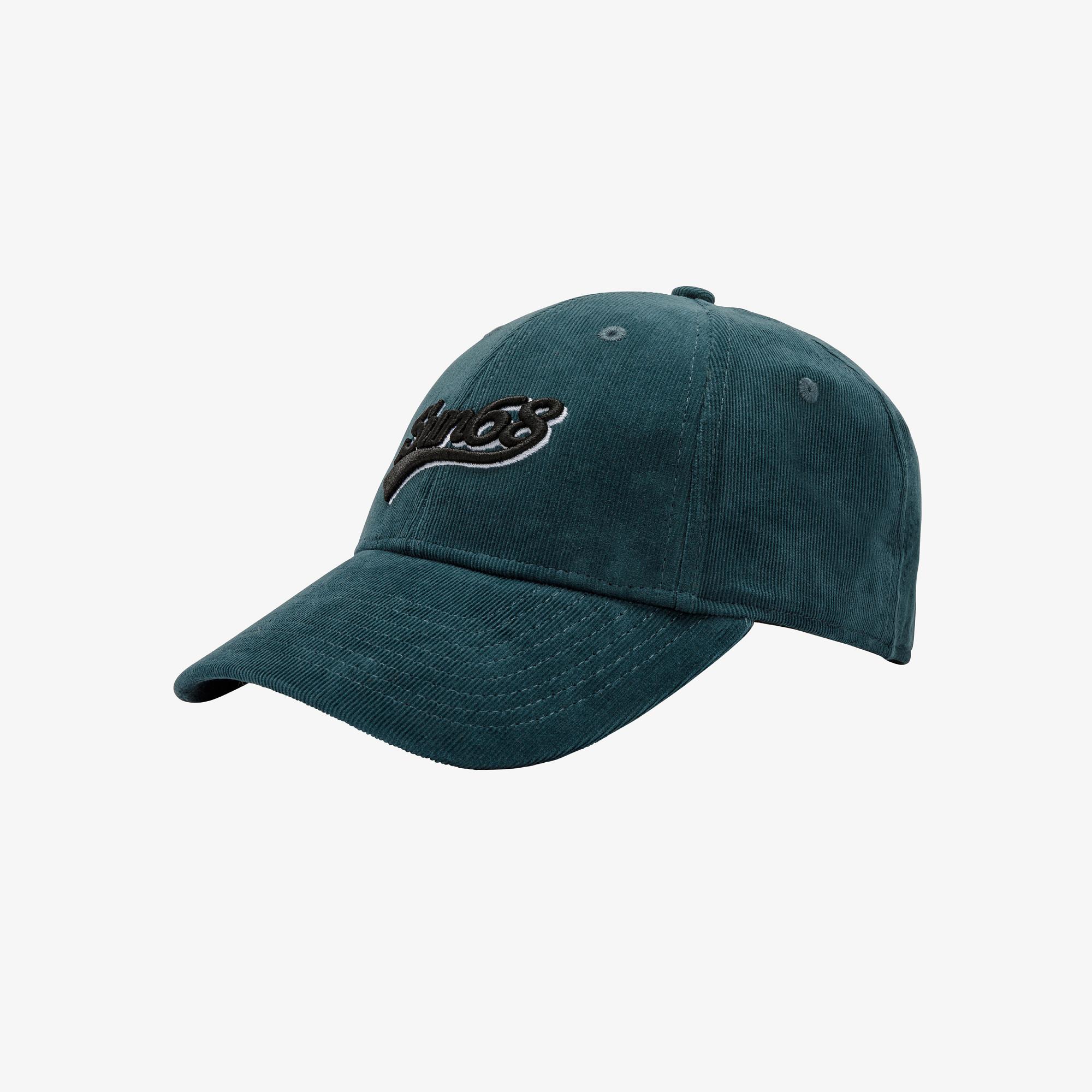 BASEBALL CAP CORDUROY GREEN EMERALD