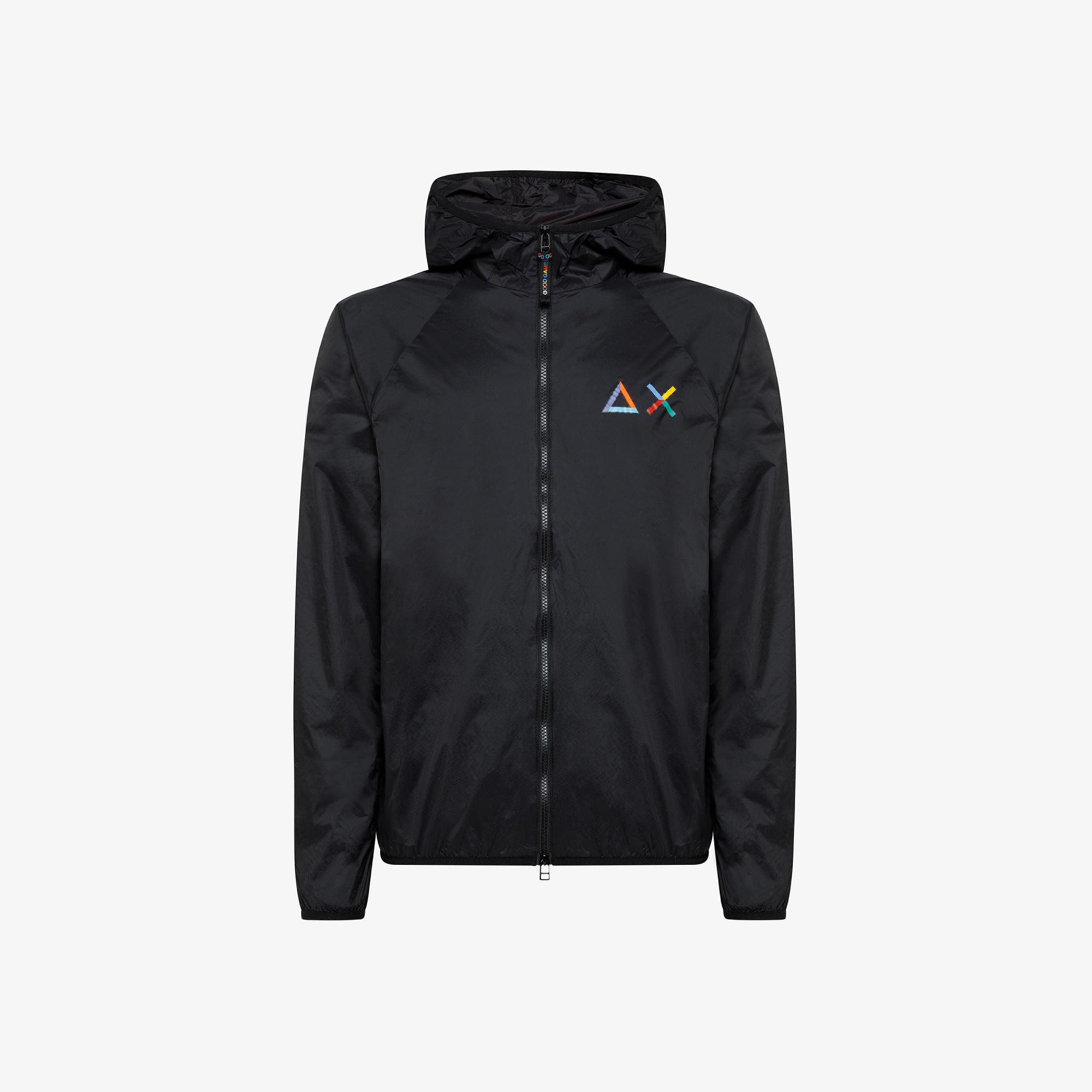 RAIN JACKET SOLID BLACK