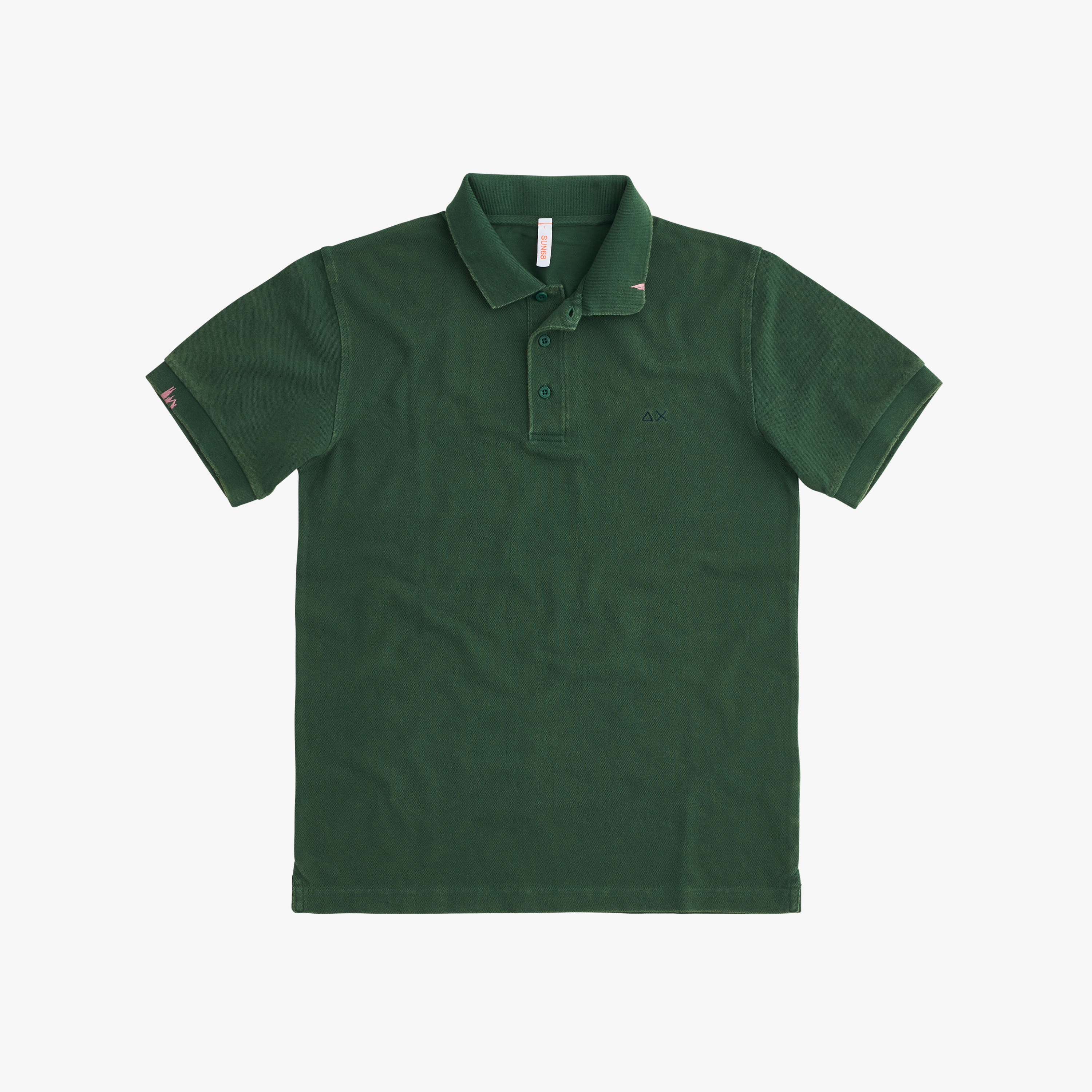 POLO VINTAGE SOLID DARK GREEN