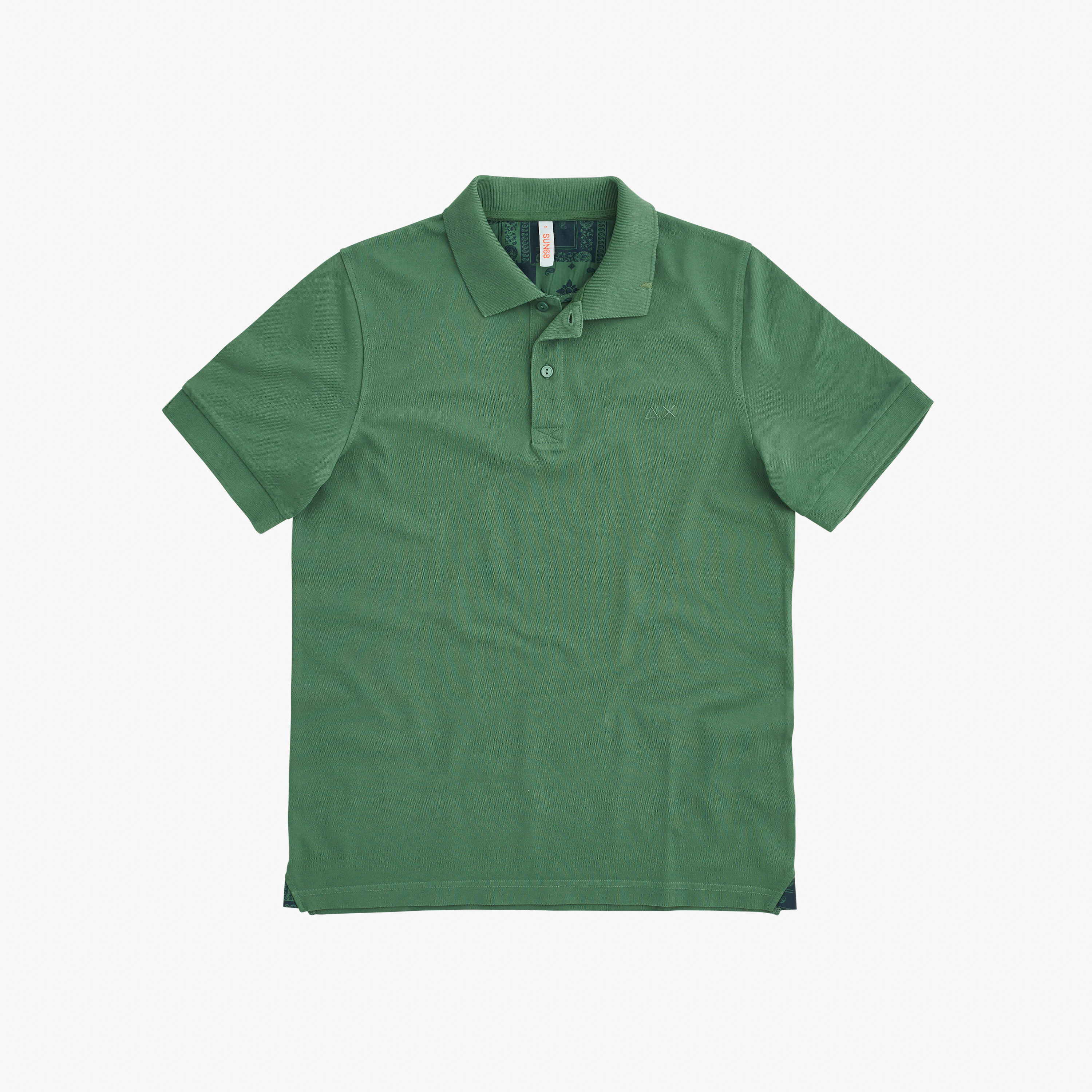 POLO COLD DYE DETAILS EL. SAGE GREEN
