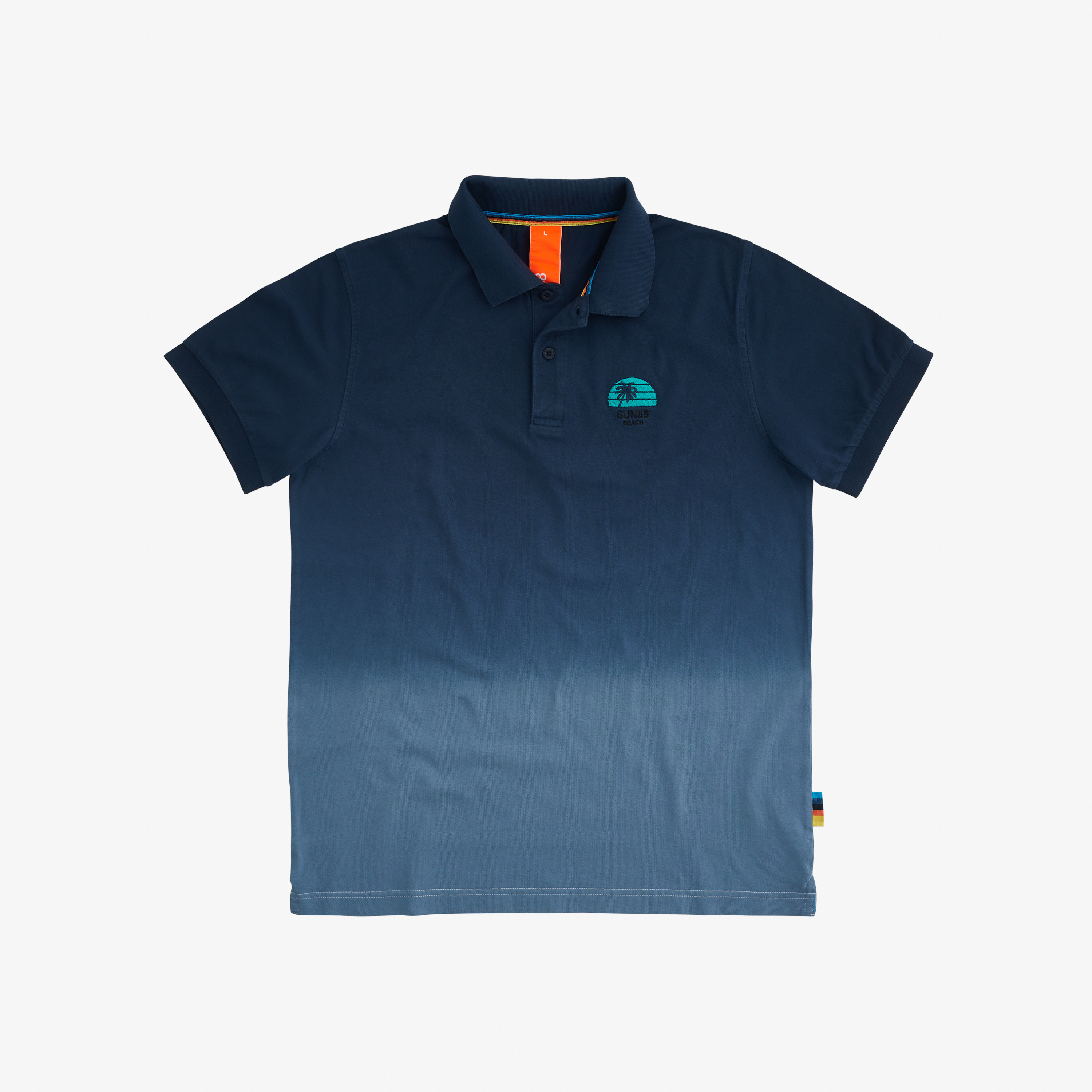 POLO HANG DYED NAVY BLUE