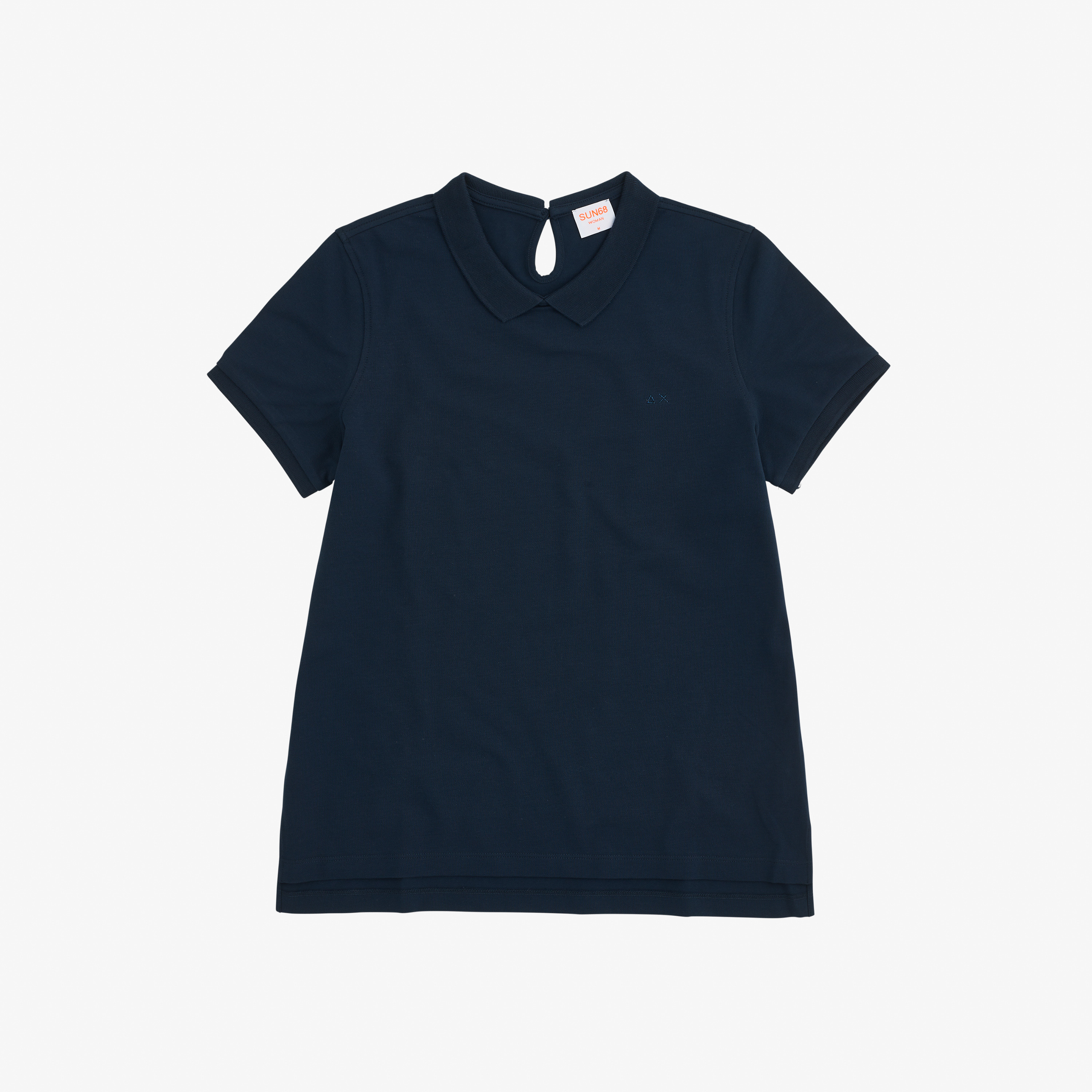 POLO BON TON S/S EL. NAVY BLUE