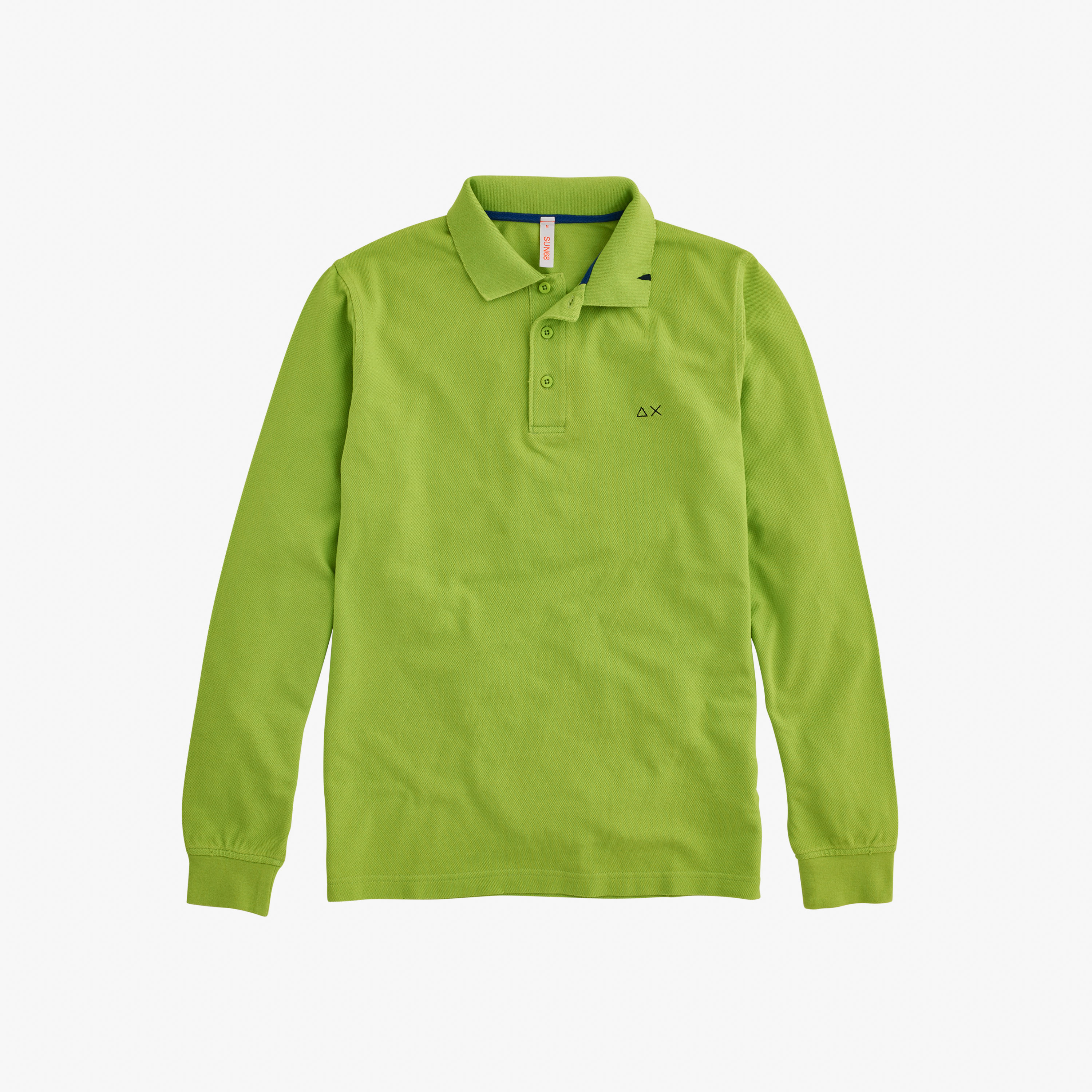 POLO VINTAGE L/S LIGHT GREEN