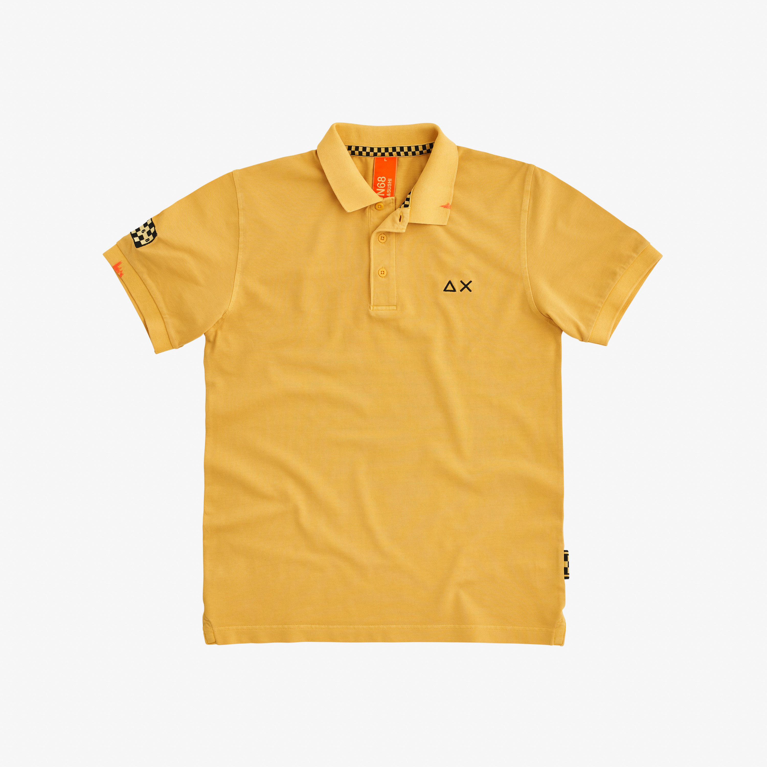 POLO EL. SPECIAL DYED S/S GIALLO SOLE