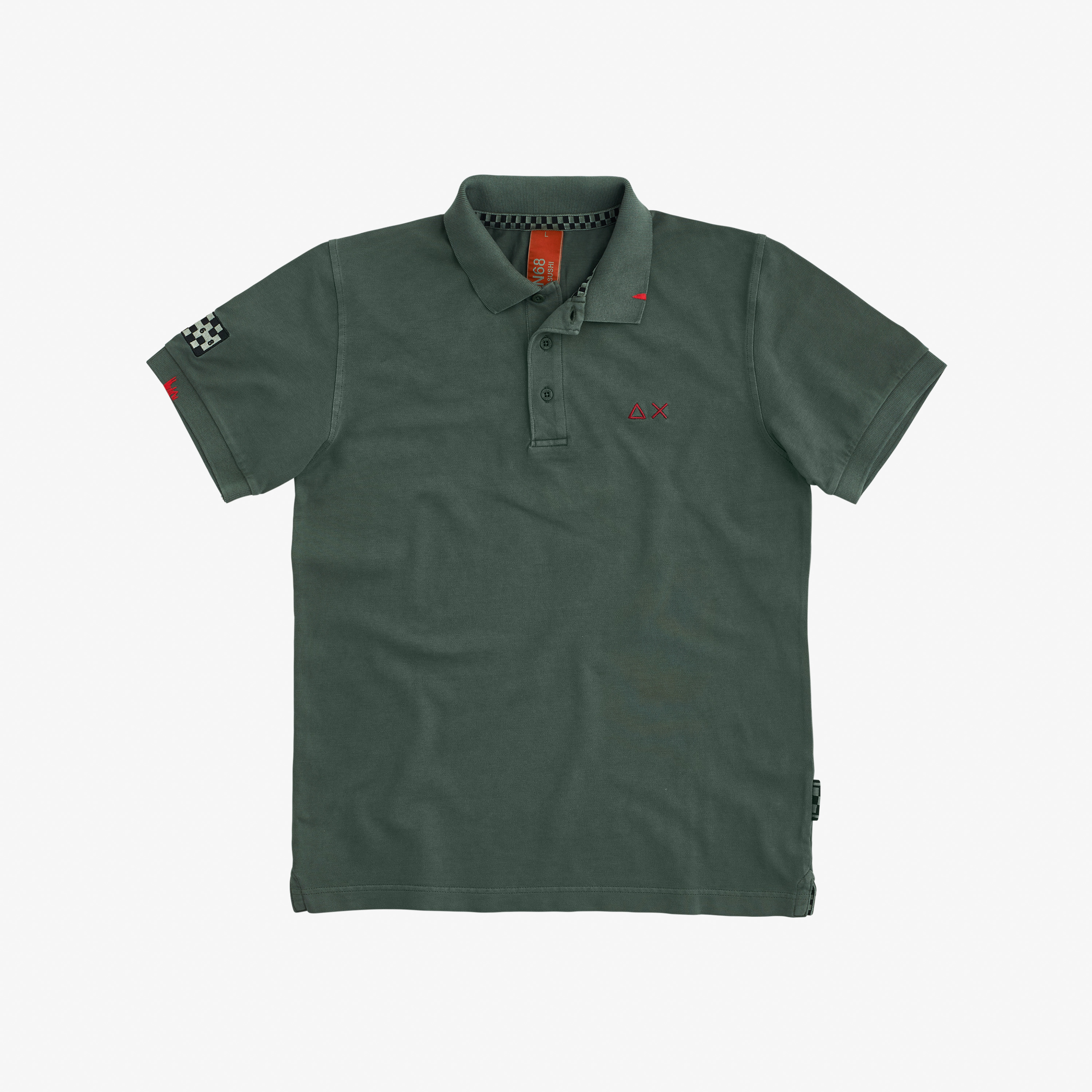 POLO EL. SPECIAL DYED S/S OLIVE