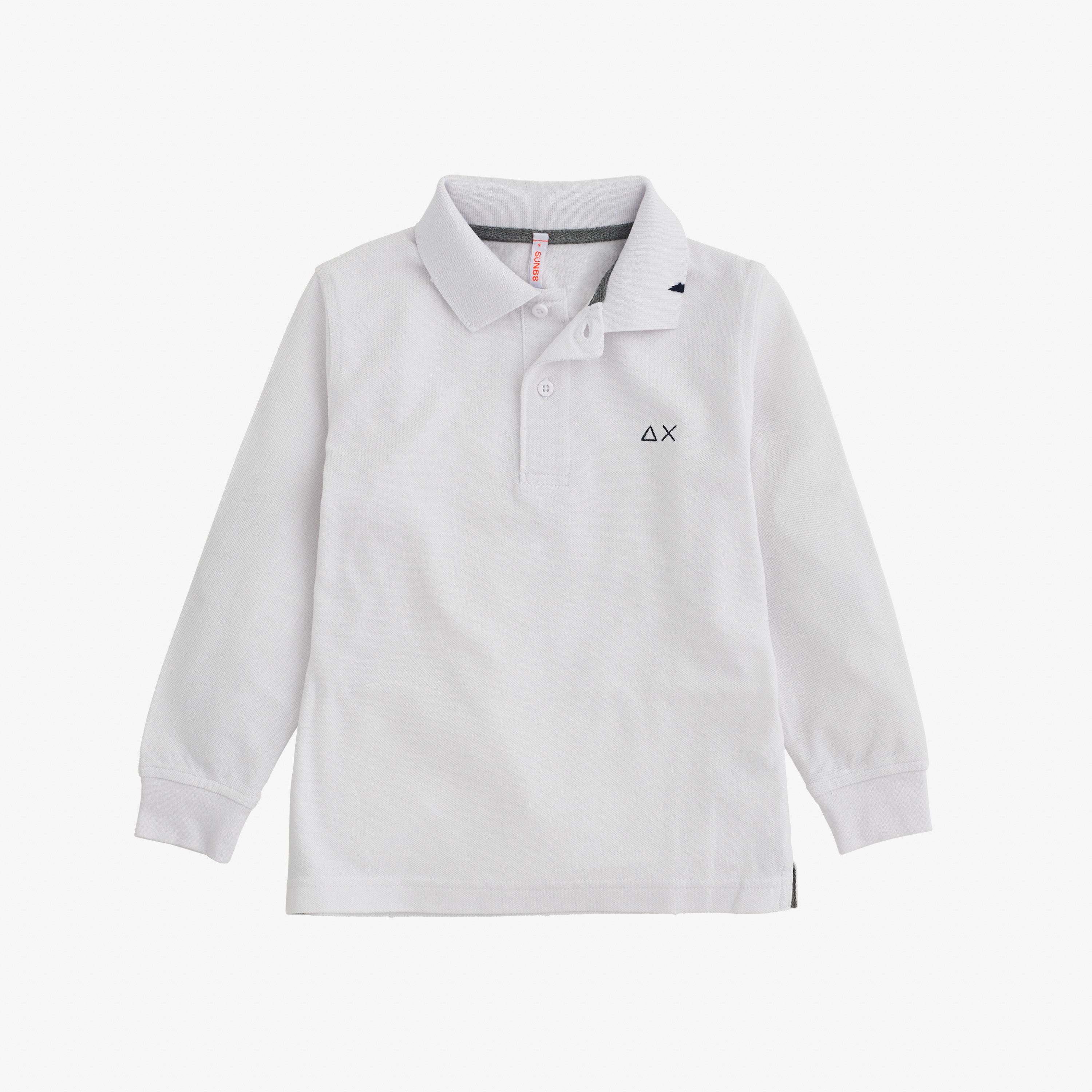 BOY'S POLO VINTAGE L/S WHITE