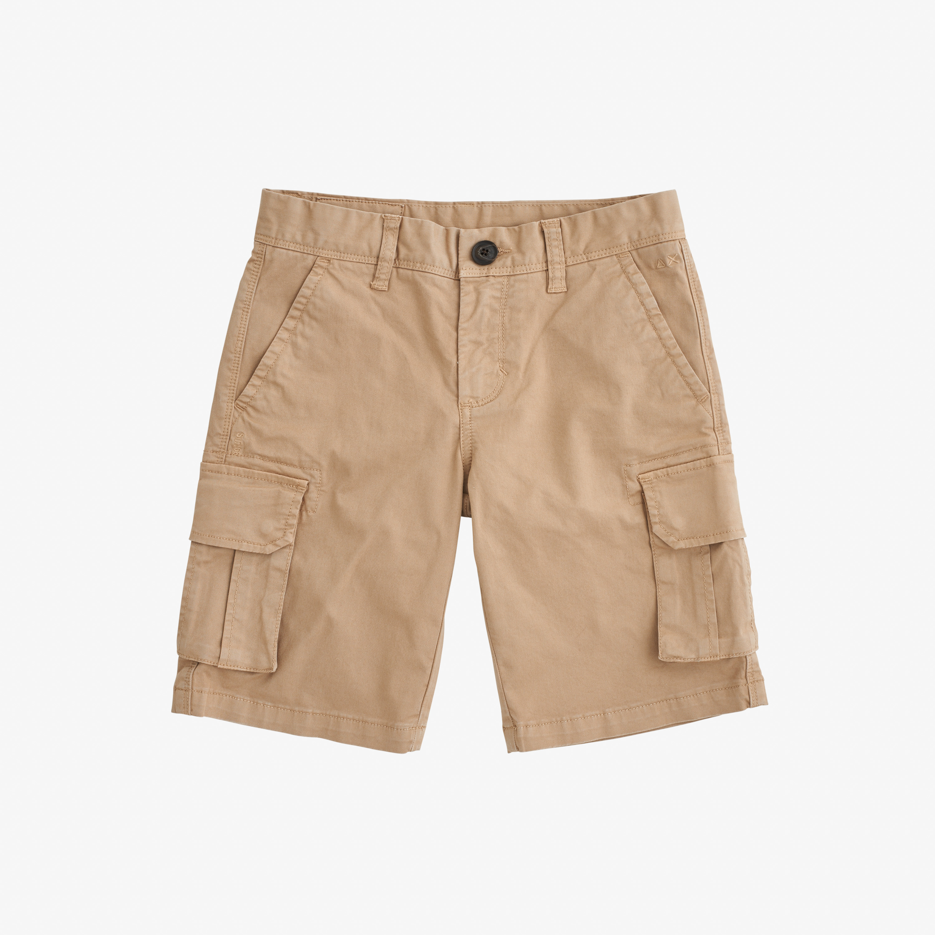 BOY'S MILITARY PANT SOLID BEIGE