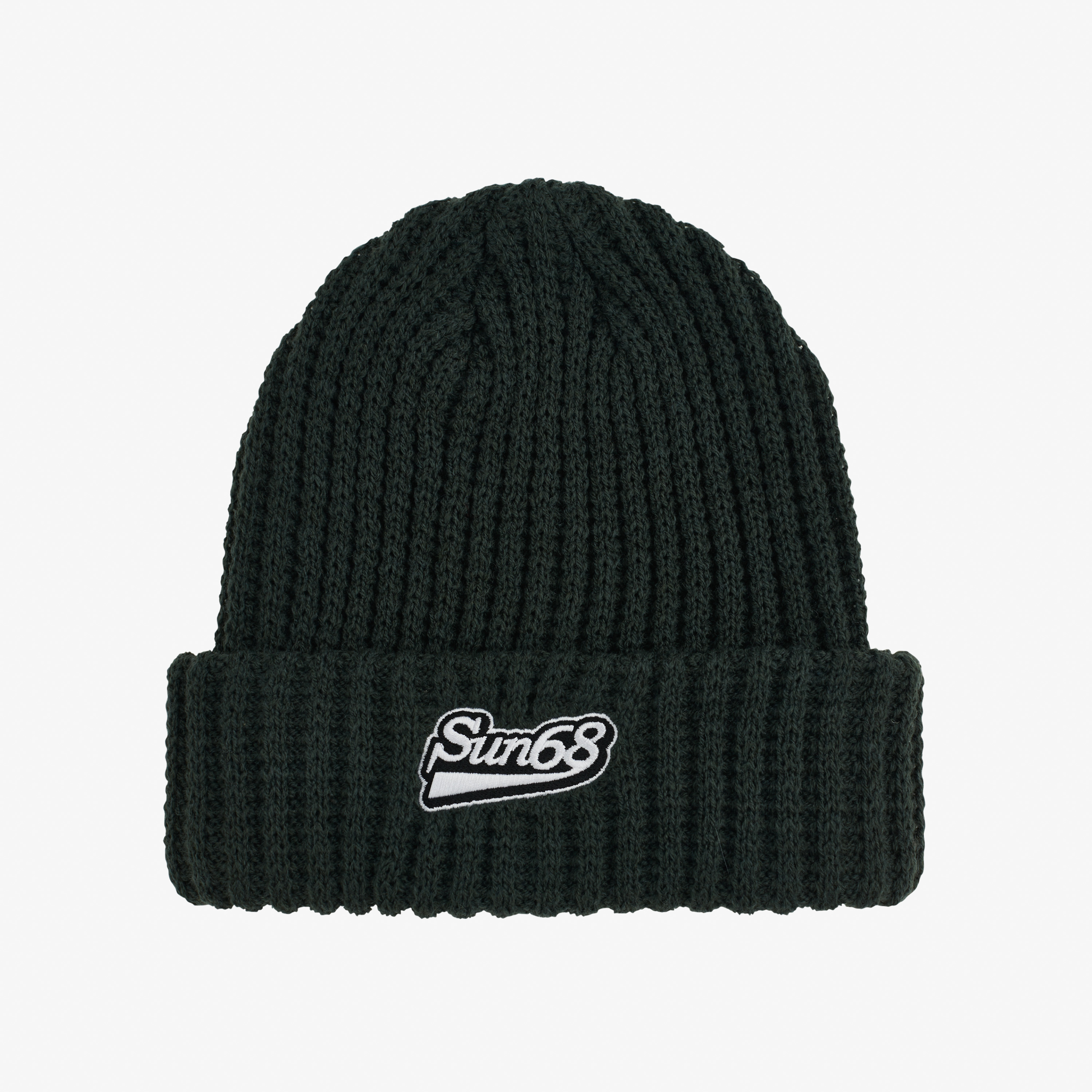 CAP THICK KNIT DARK MILITARY