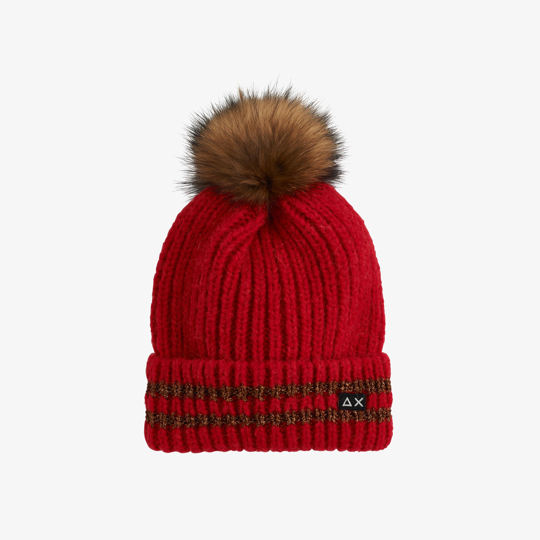 CAP SPORT LUREX RED