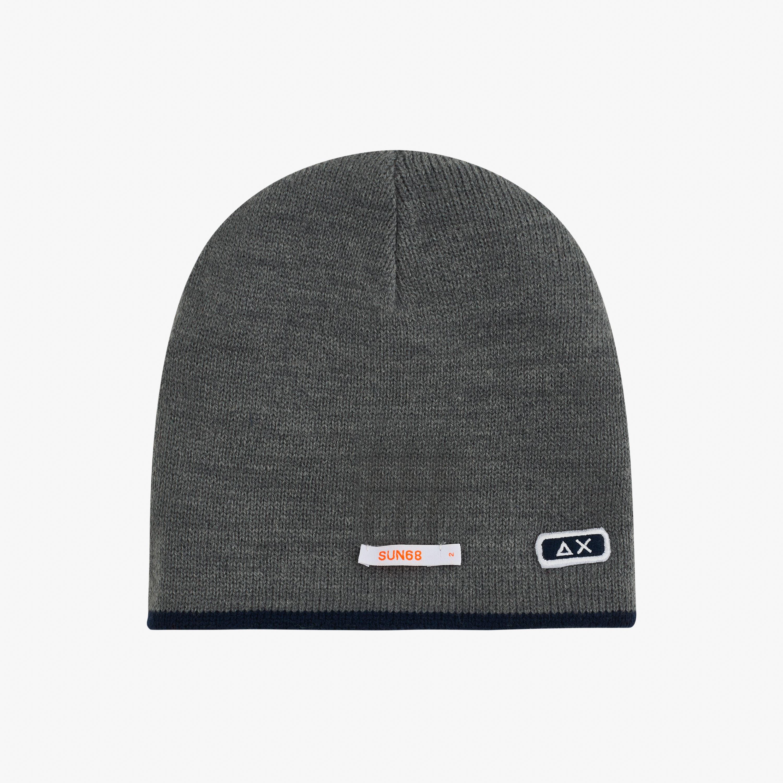 BOY'S CAP BASIC ROSSO