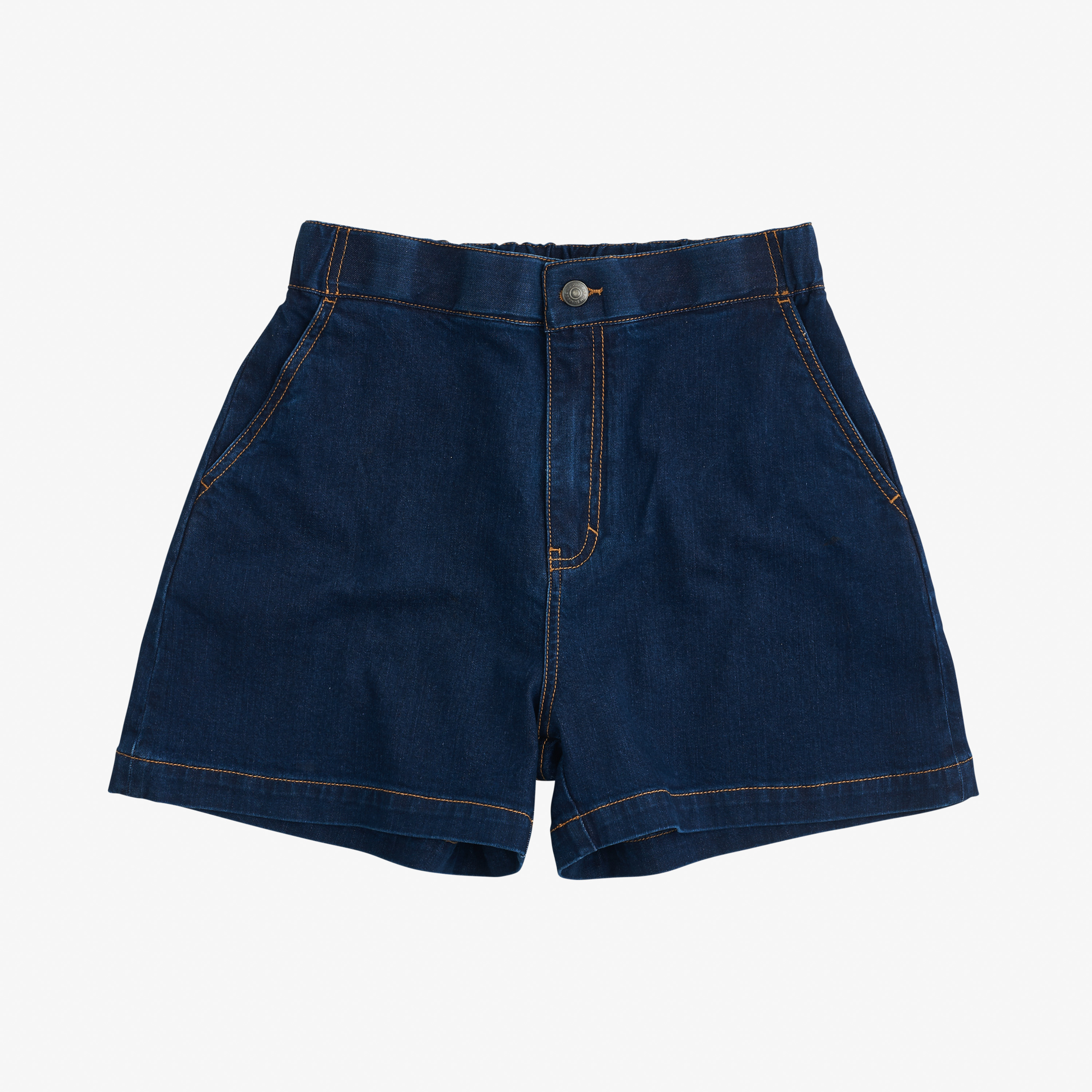 DENIM SHORTS NAVY BLUE