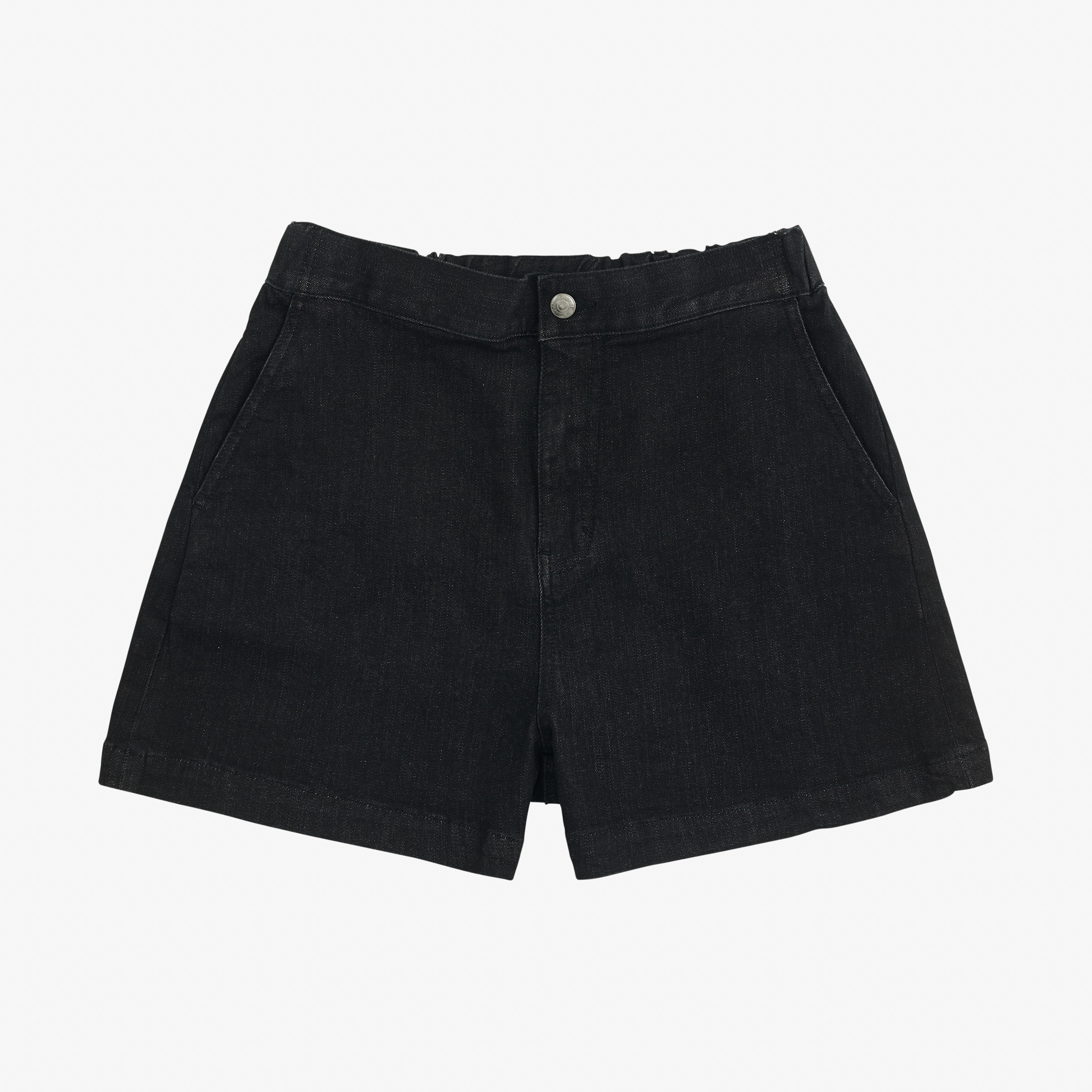 DENIM SHORTS NERO