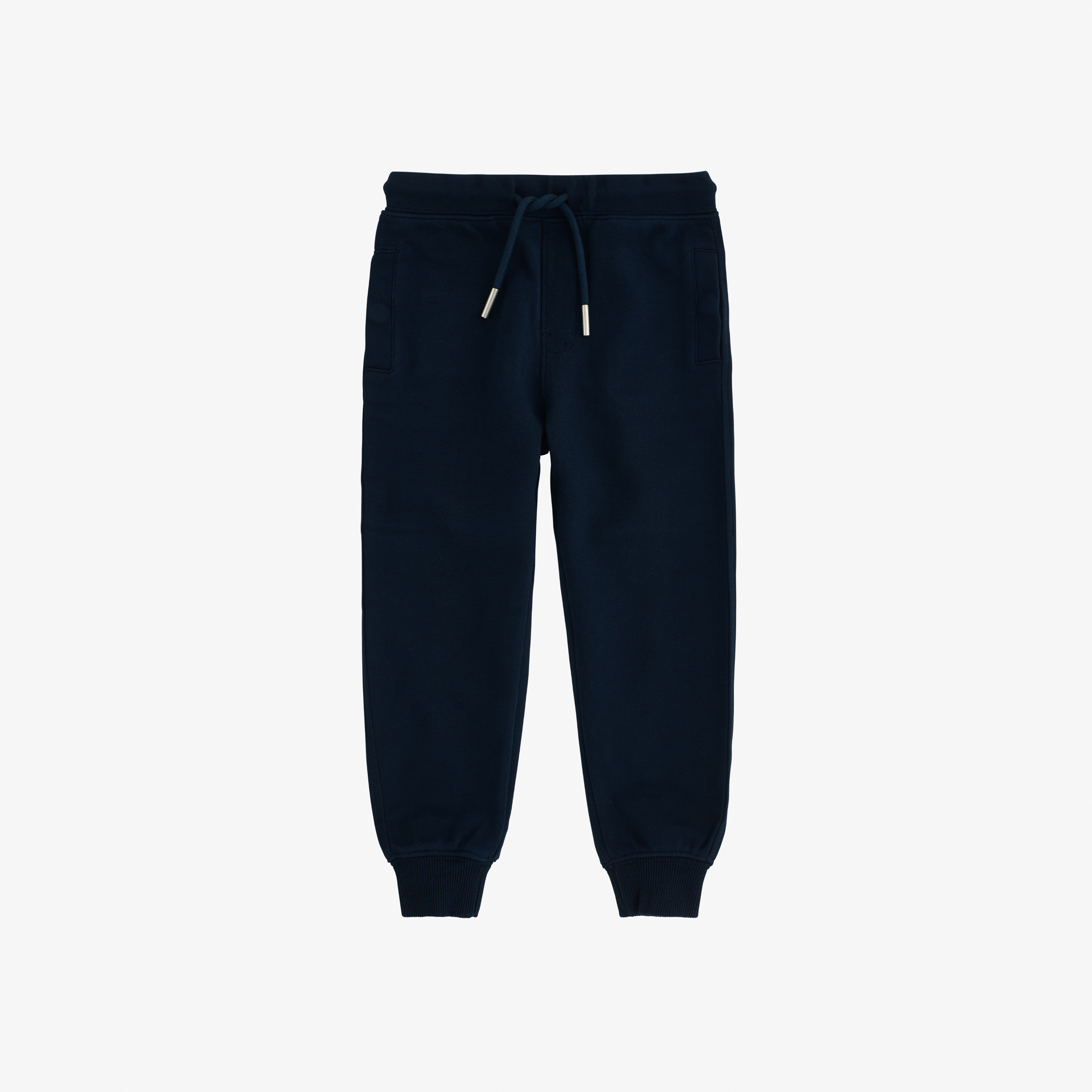 BOY'S PANT LONG HERITAGE COTT.FL NAVY BLUE