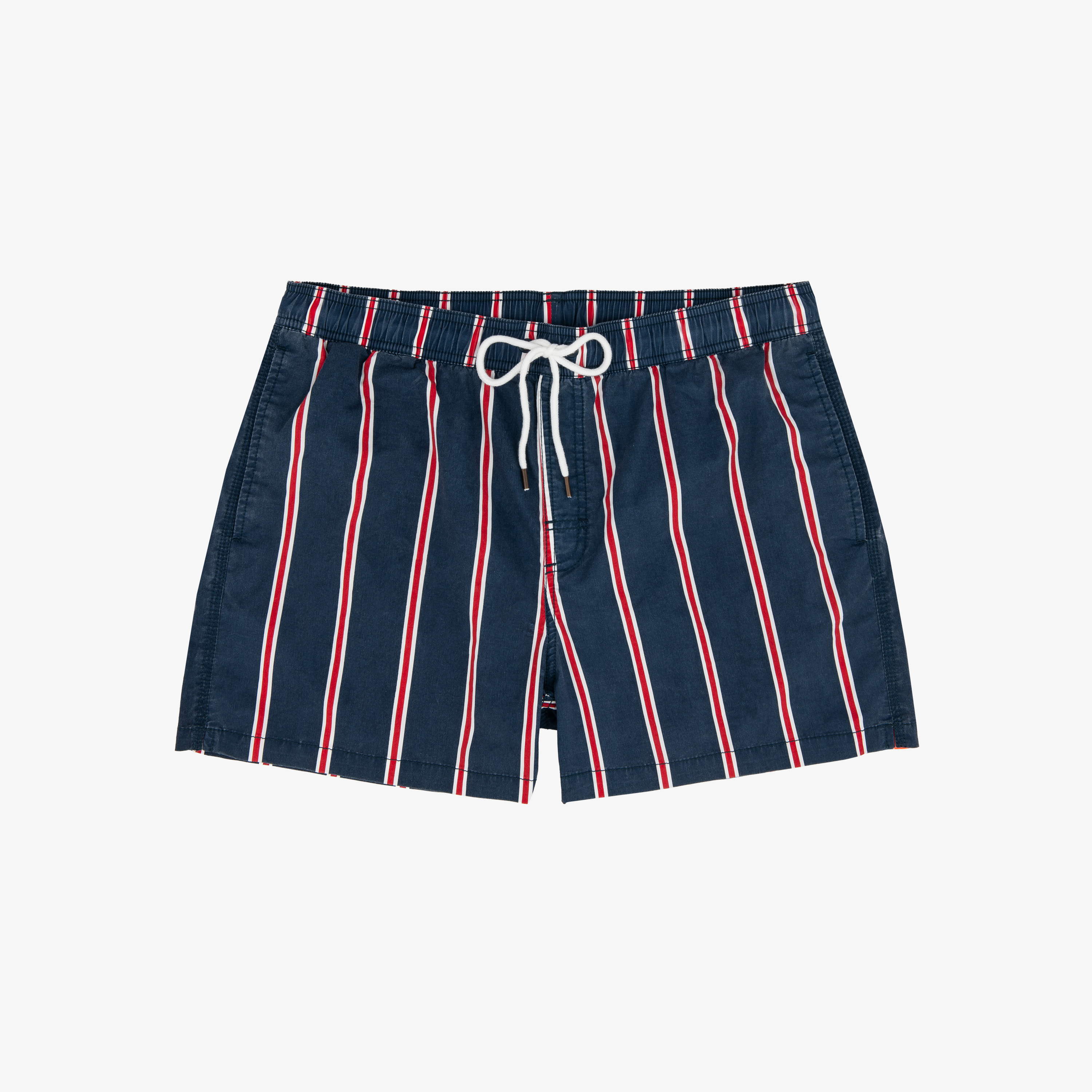 SWIM PANT STRIPES NAVY BLUE