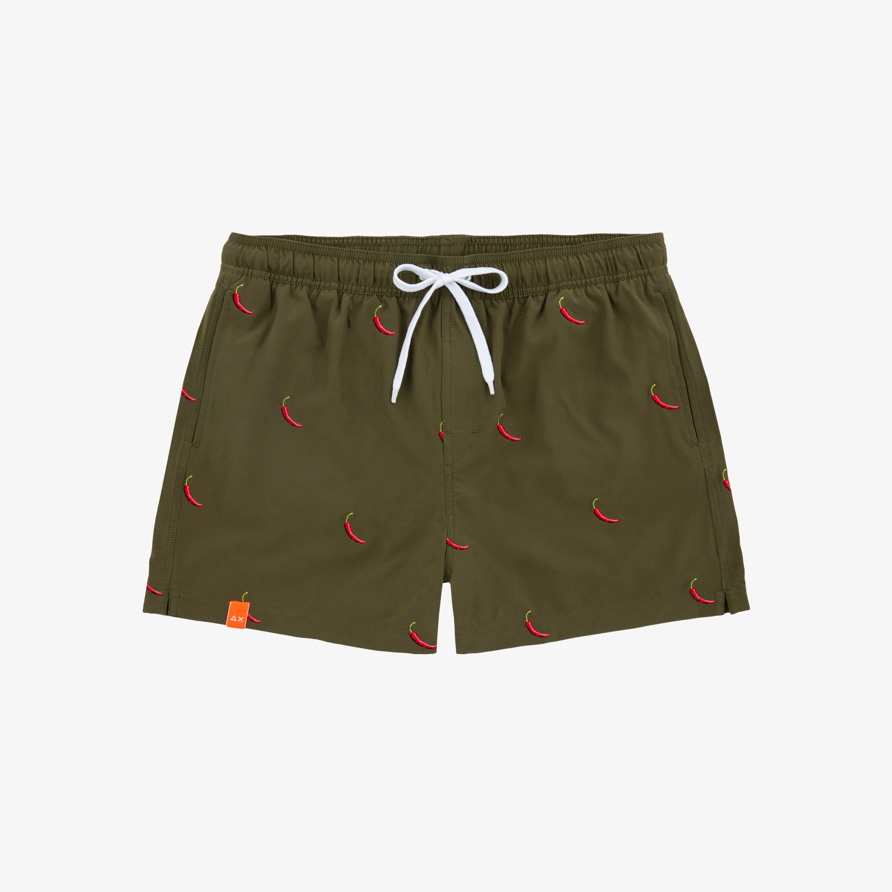 SWIM PANT EMBRODERY MILITARY