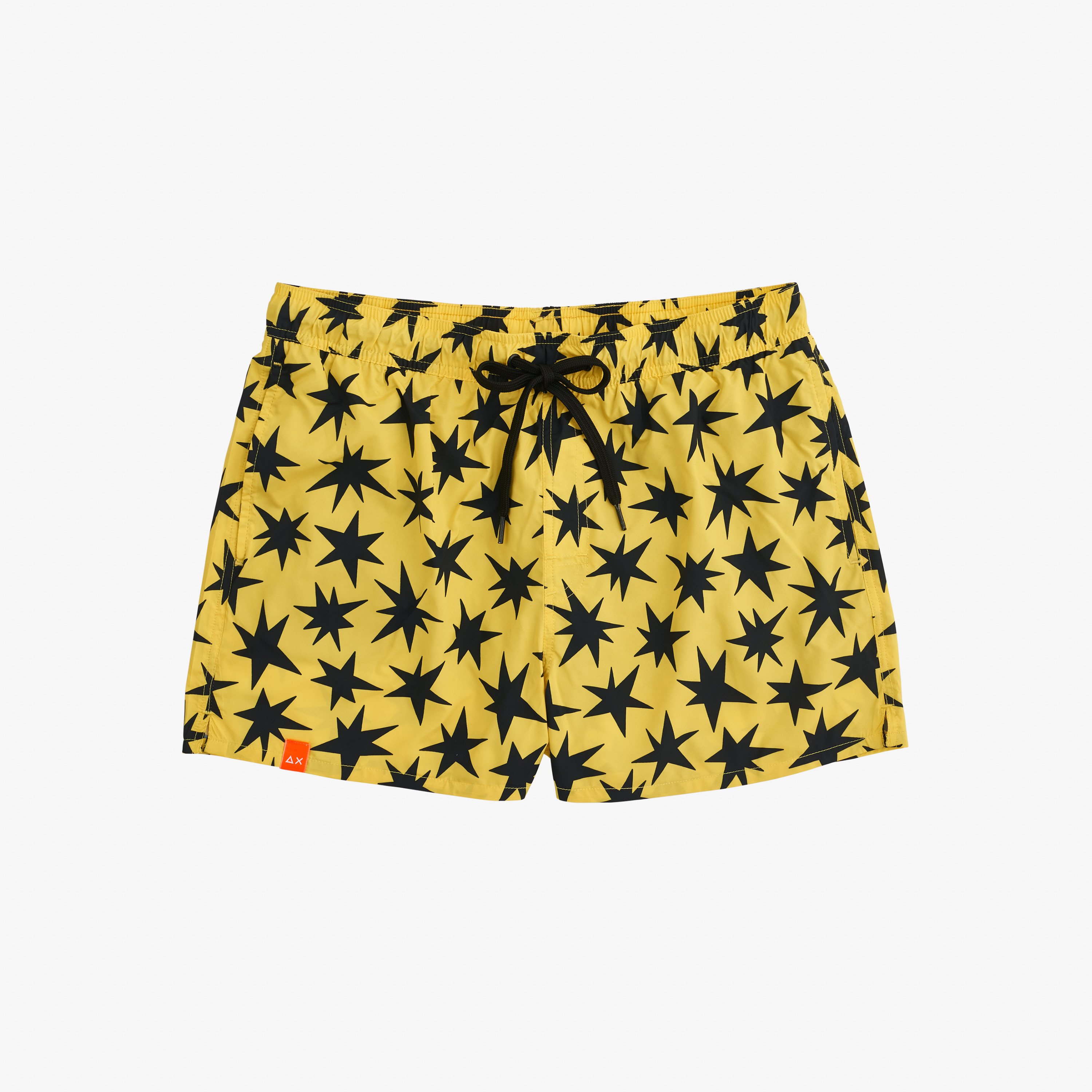 SWIM PANT ABSTRACT YELLOW/BLACK