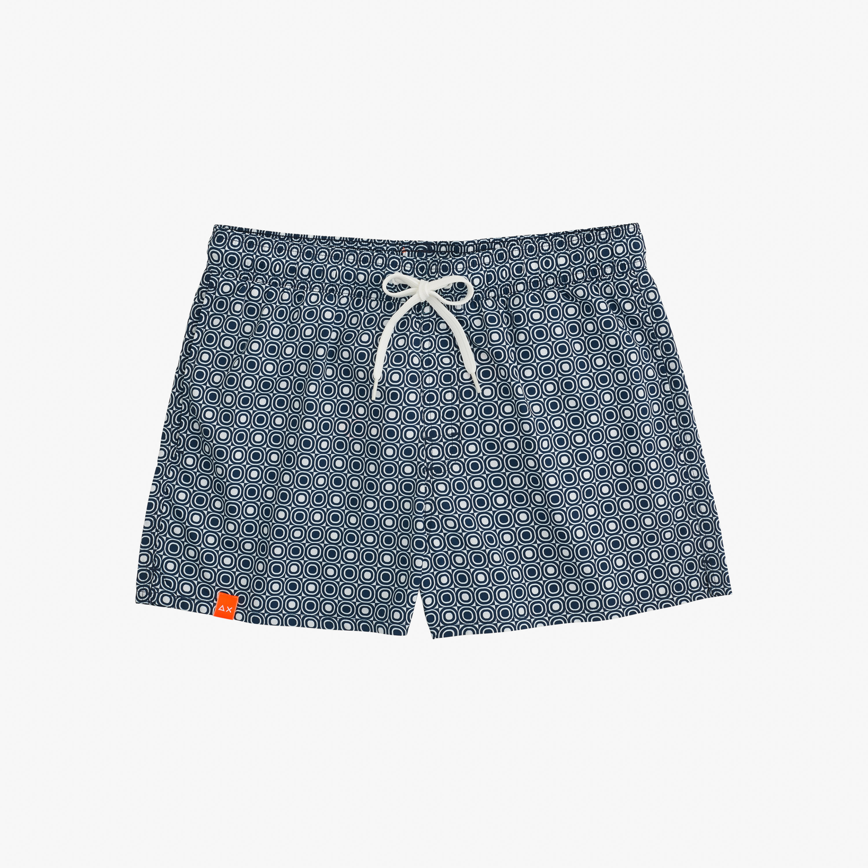 SWIM PANT FANCY MICRO PATTERN NAVY BLUE/BIANCO
