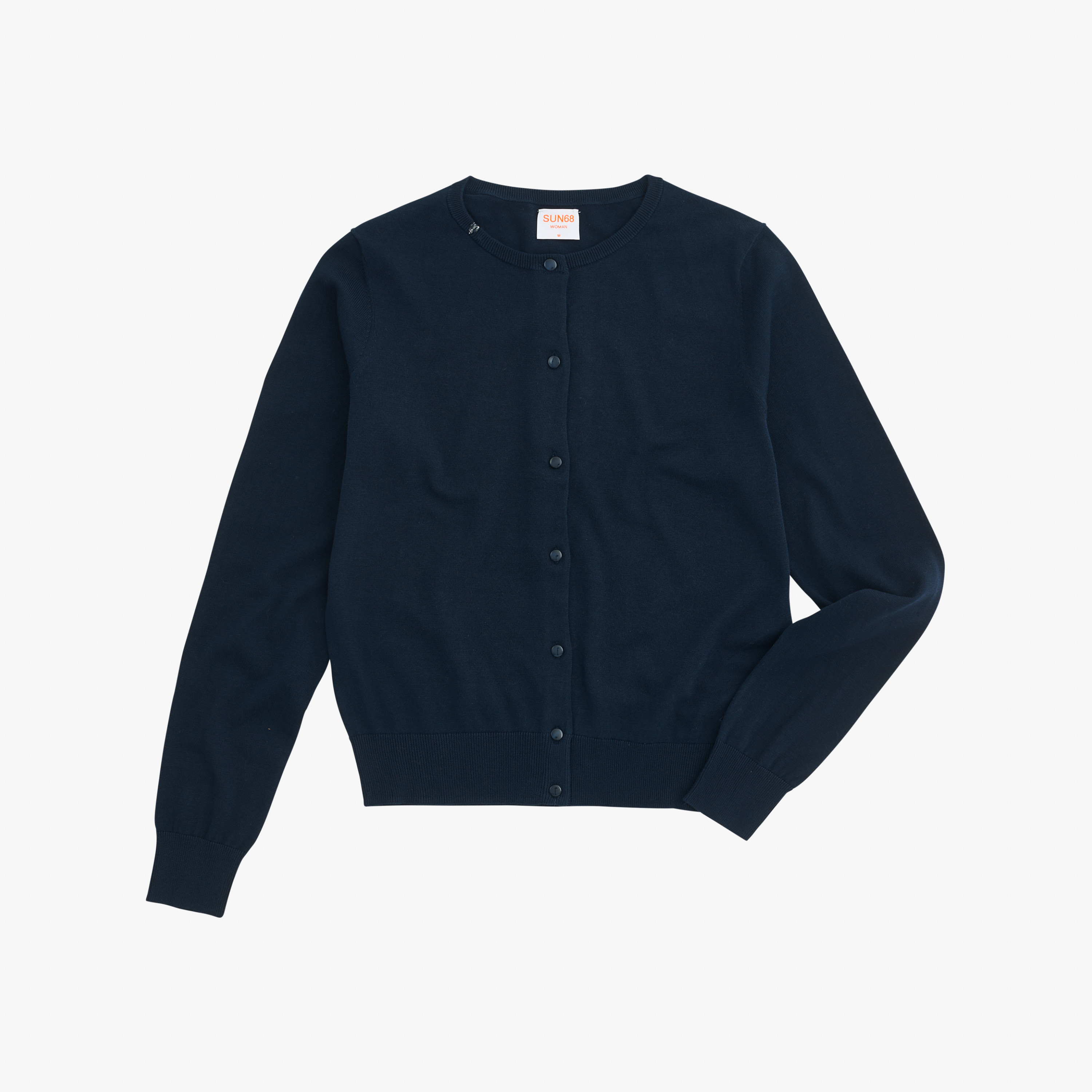 CARDIGAN SOLID NAVY BLUE
