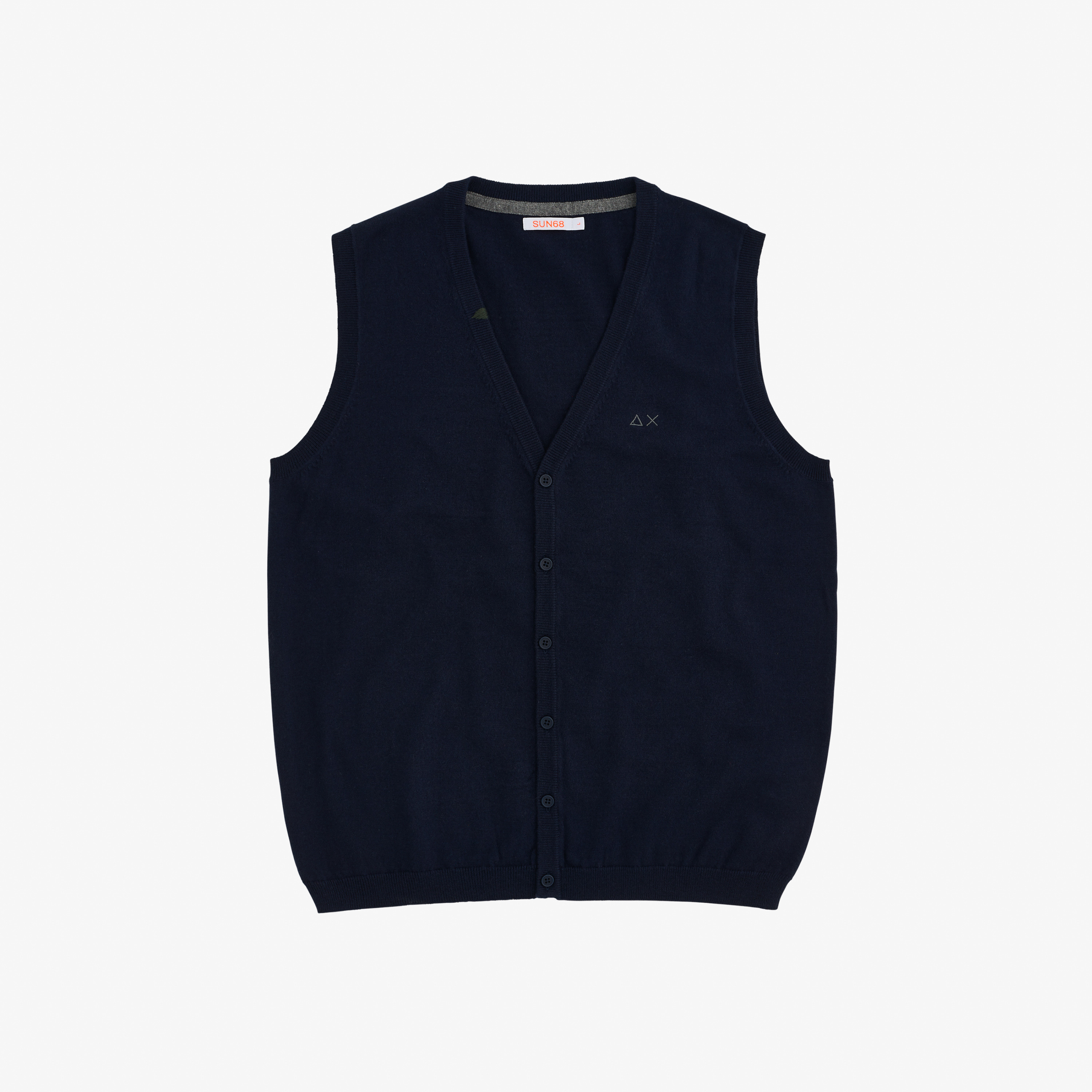 GILET SOLID NAVY BLUE