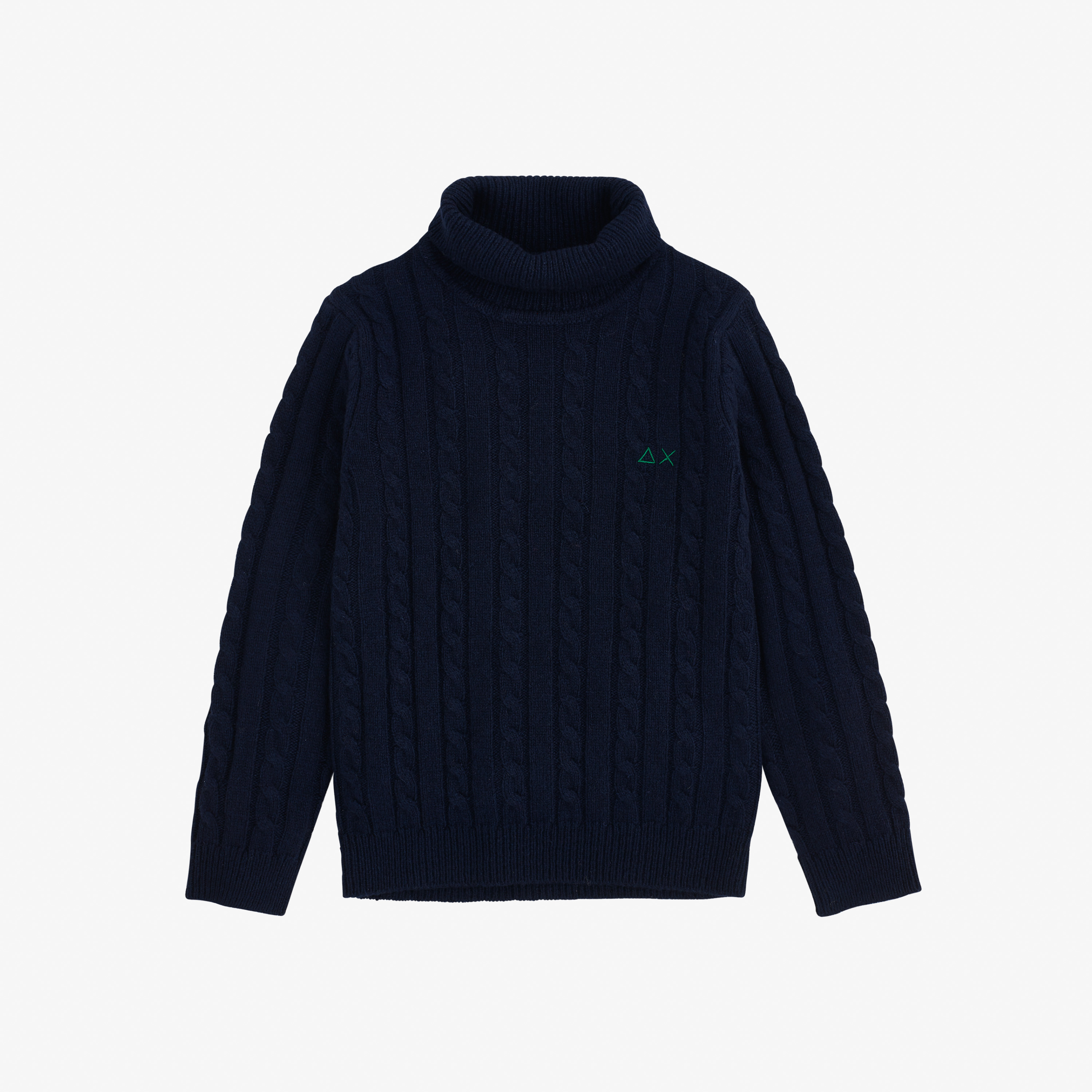 BOY'S TURTLE CABLE NAVY BLUE