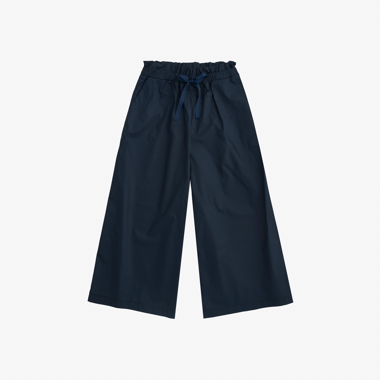 PANTS WIDE LEGS NAVY BLUE