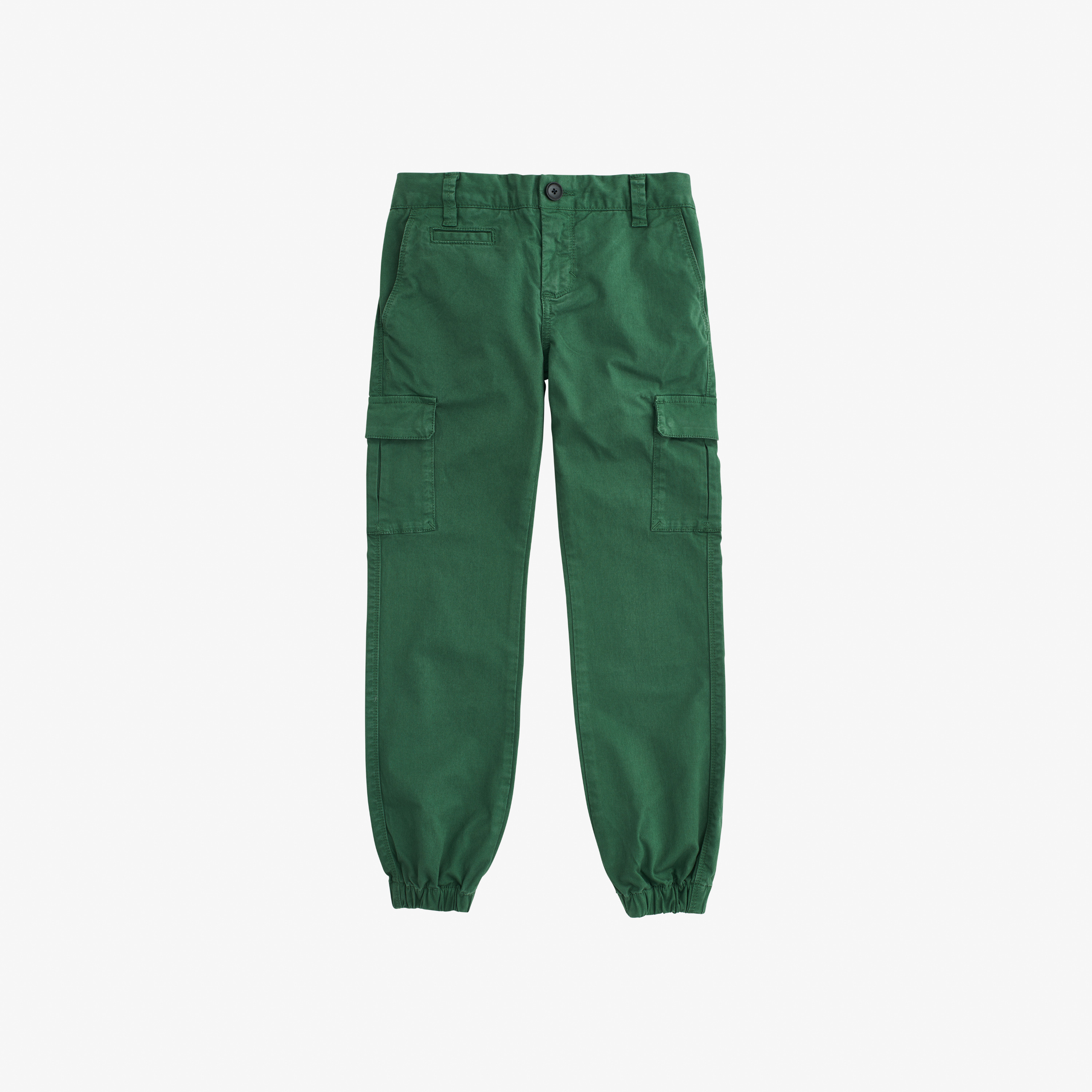 BOY'S MILITARY PANT ELASTIC BOTTOM SAGE GREEN