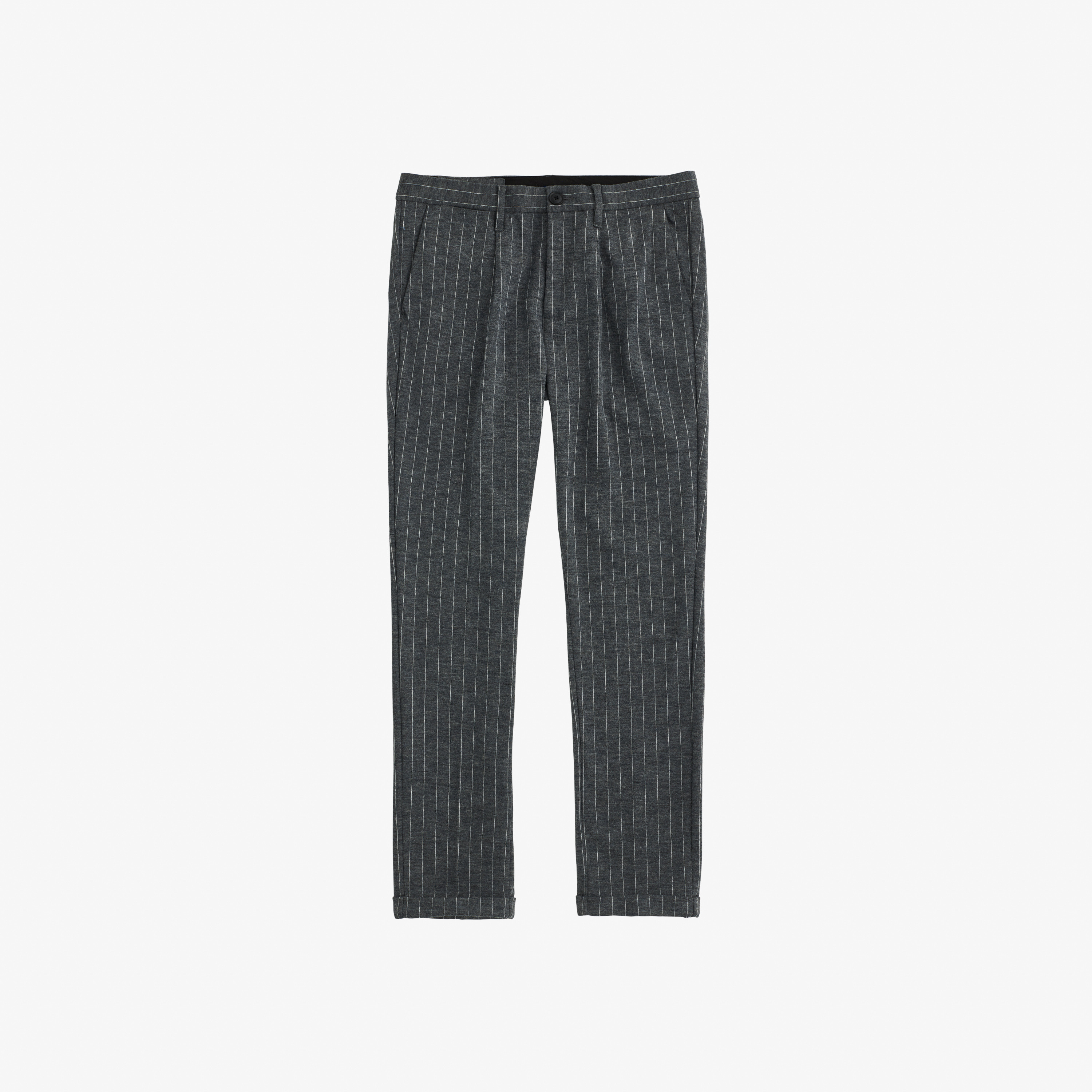 WOOL PANT PENCE MEDIUM GREY