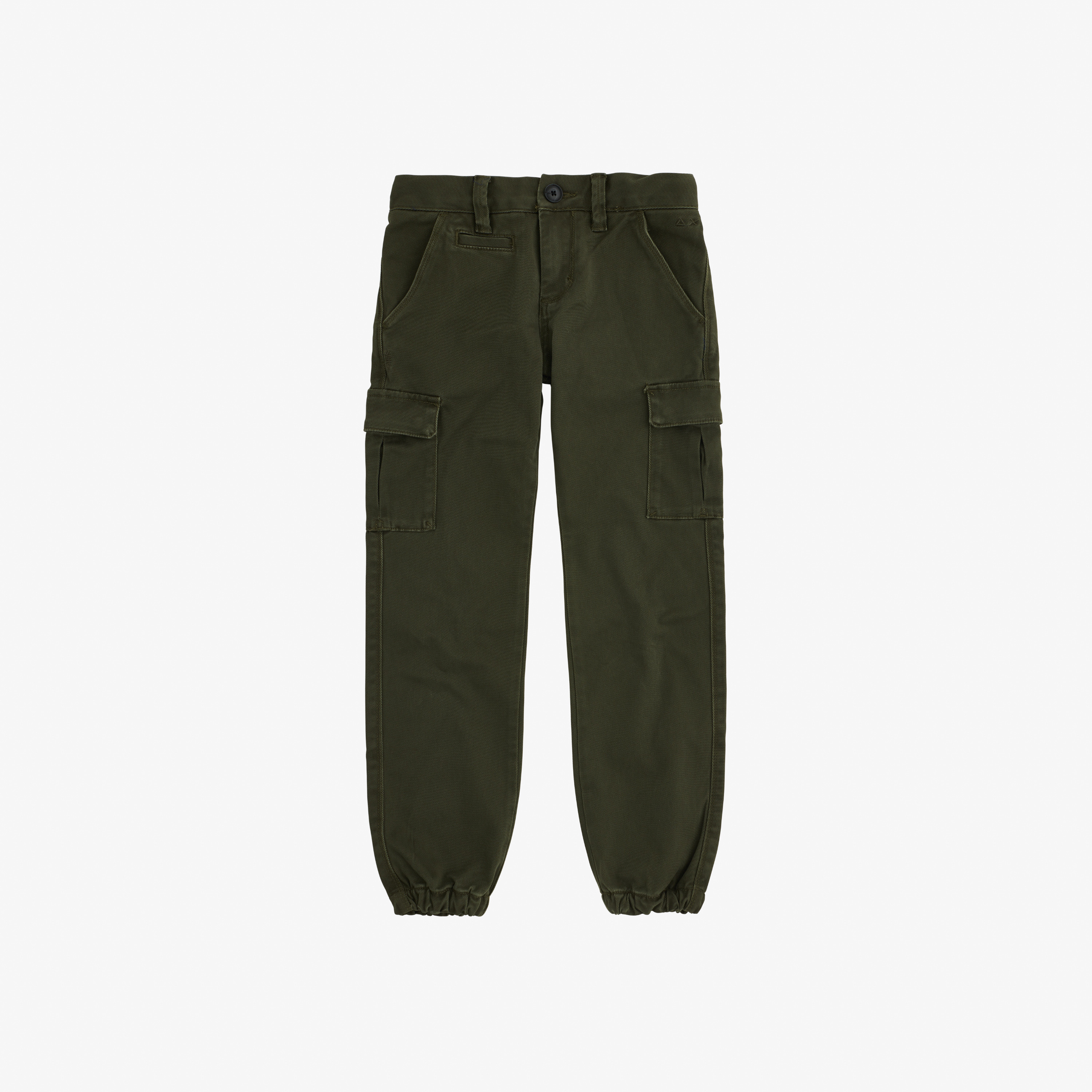 BOY'S PANT MILITARY MILITARE SCURO