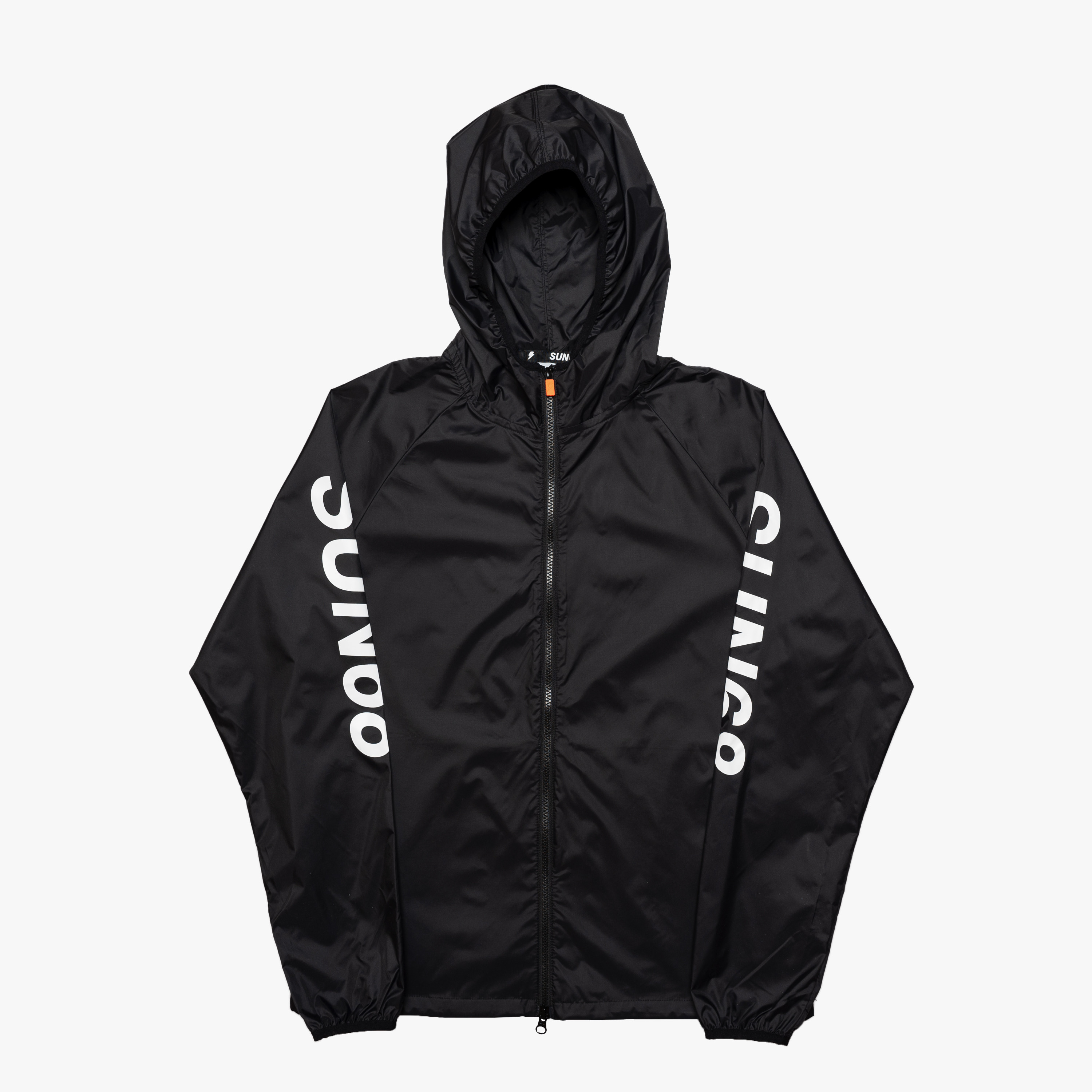 NYLON RAIN JACKET NERO