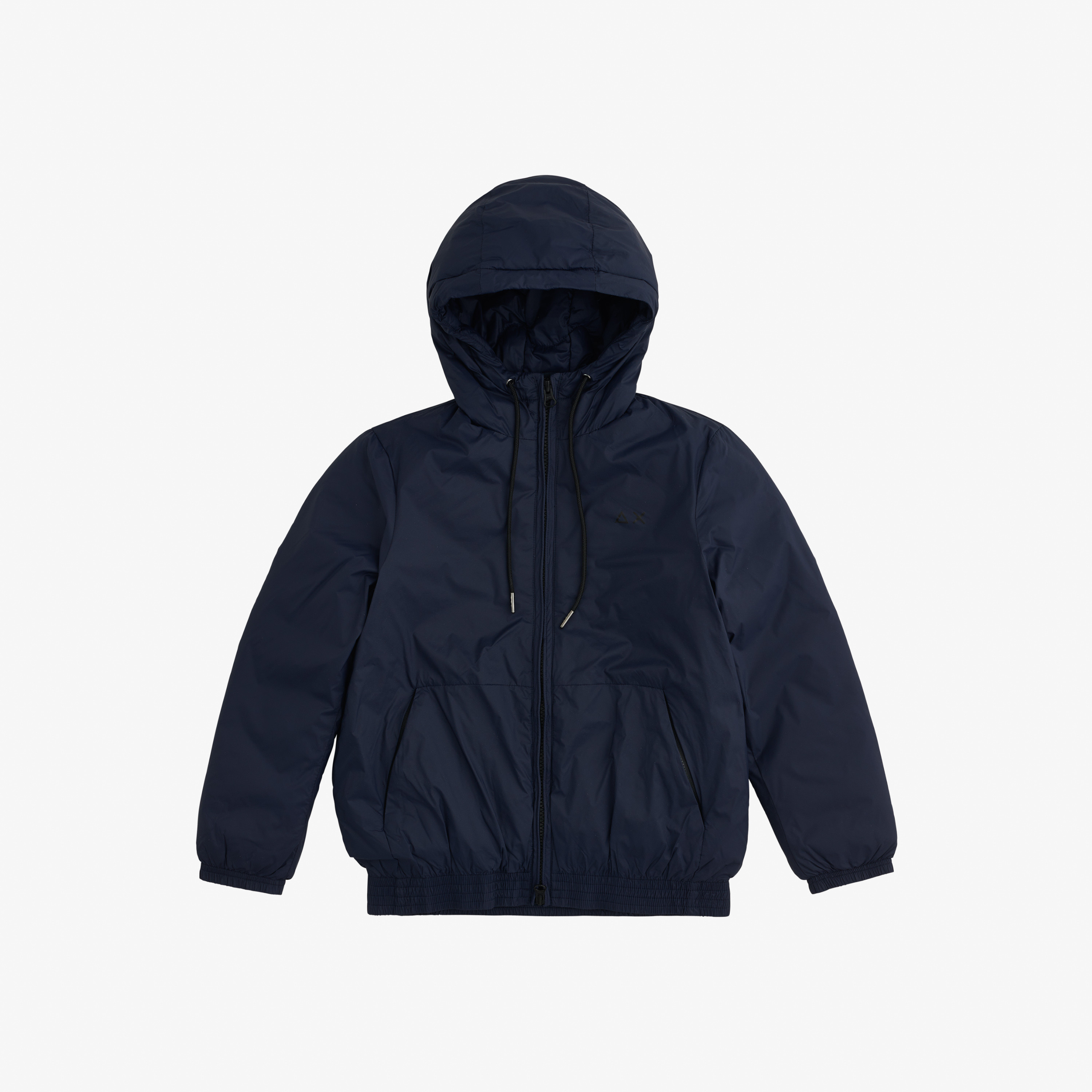 BOY'S RAIN PADDING JACKET NAVY BLUE
