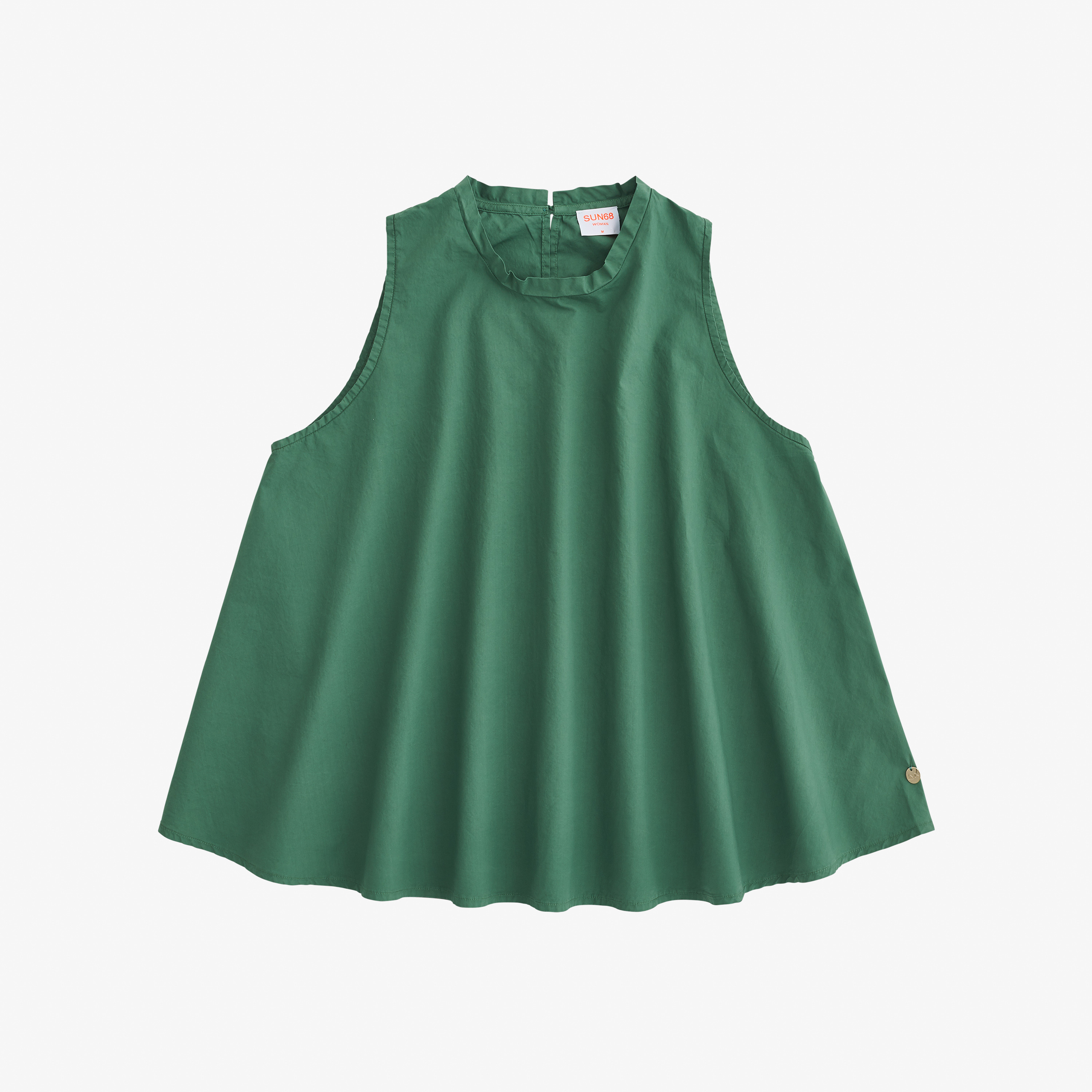 TOP SHIRT VERDE SALVIA