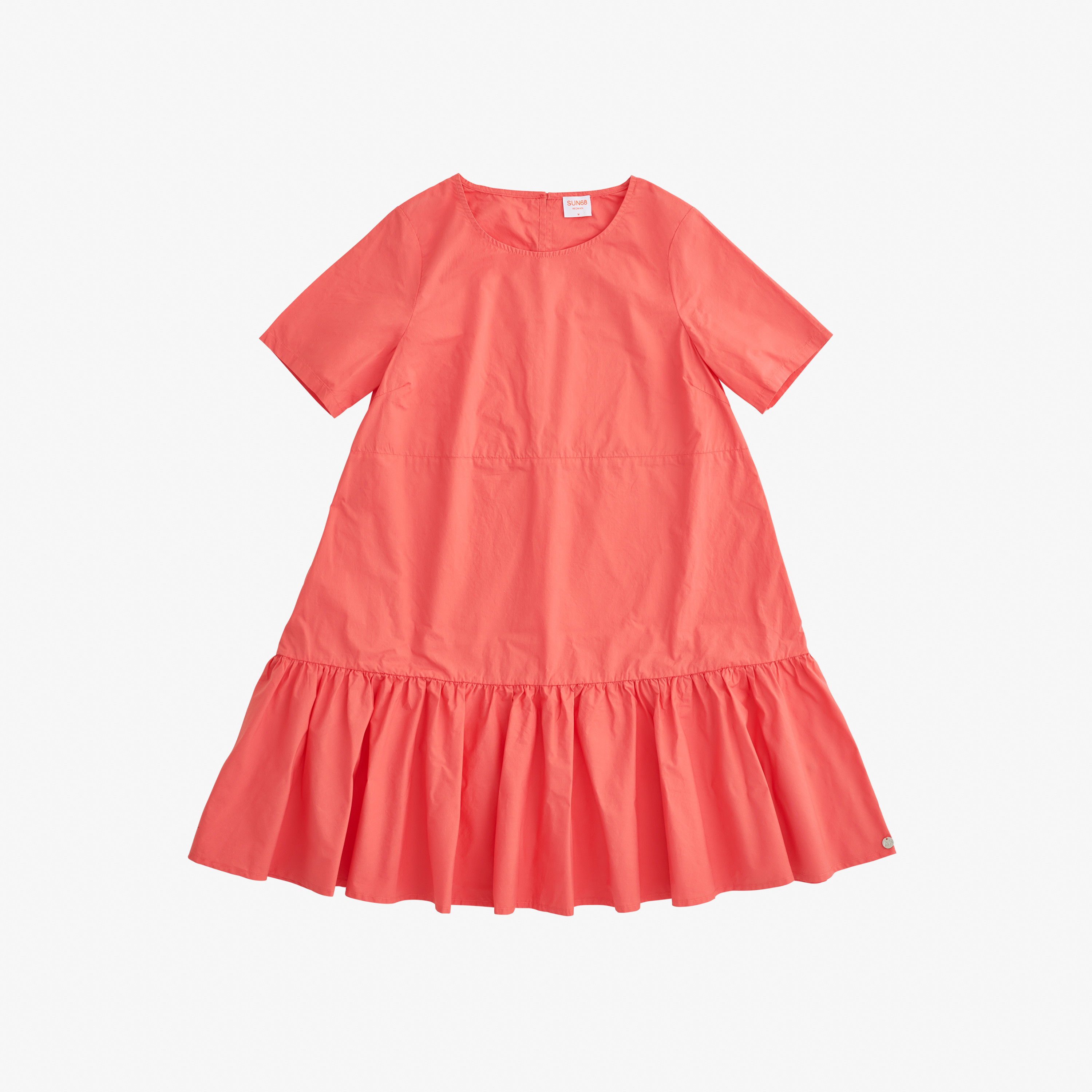 DRESS S/S CORAL