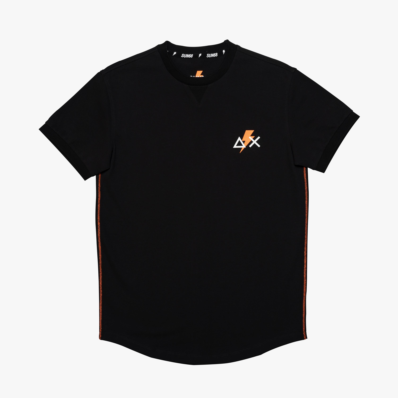 T-SHIRT ROUND NECK S/S BLACK