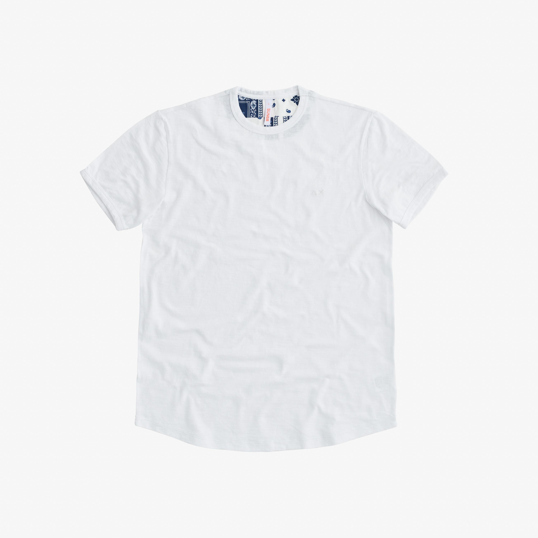 T-SHIRT ROUND BOTTOM WHITE