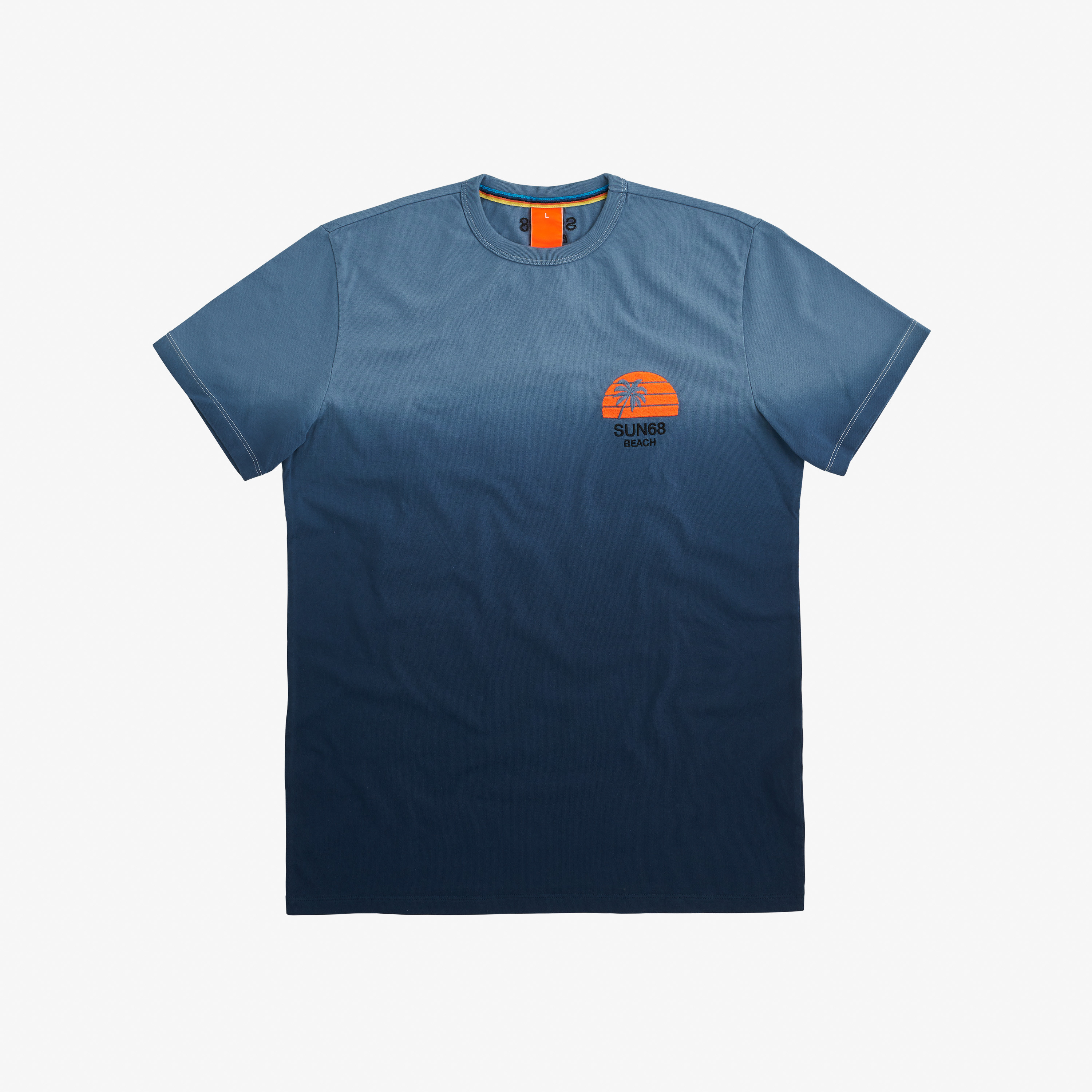 T-SHIRT HANG DYE NAVY BLUE