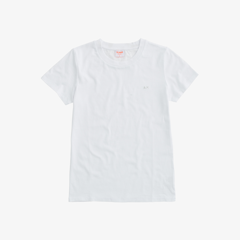 ROUND NECK T-SHIRT S/S WHITE