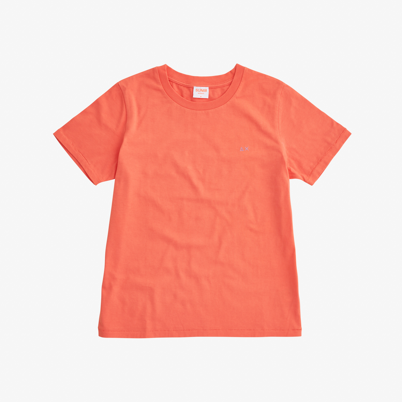 ROUND NECK T-SHIRT S/S CORALLO