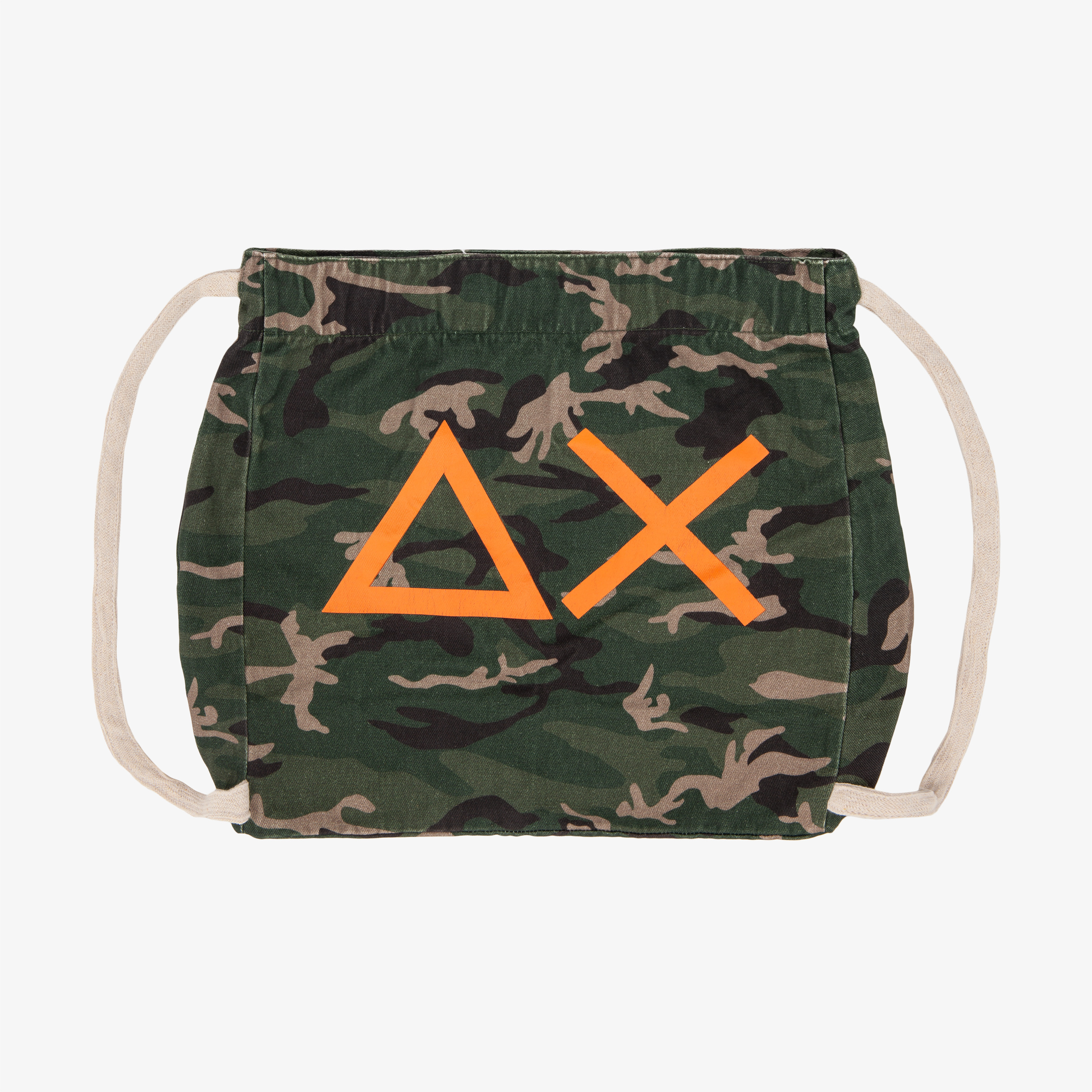 COTTON BAG GREEN CAMOUFLAGE