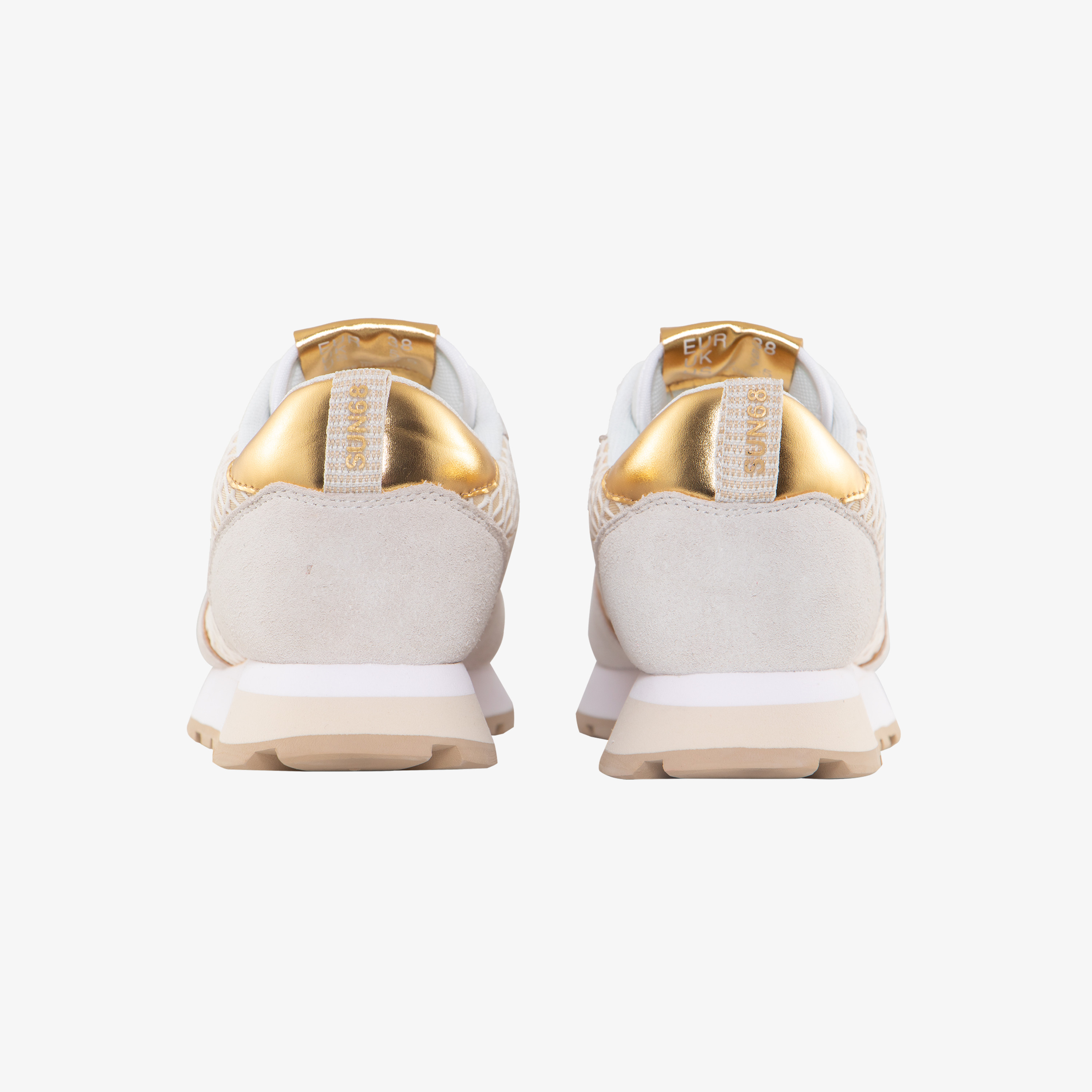 ALLY BIG MESH OFF WHITE/GOLD