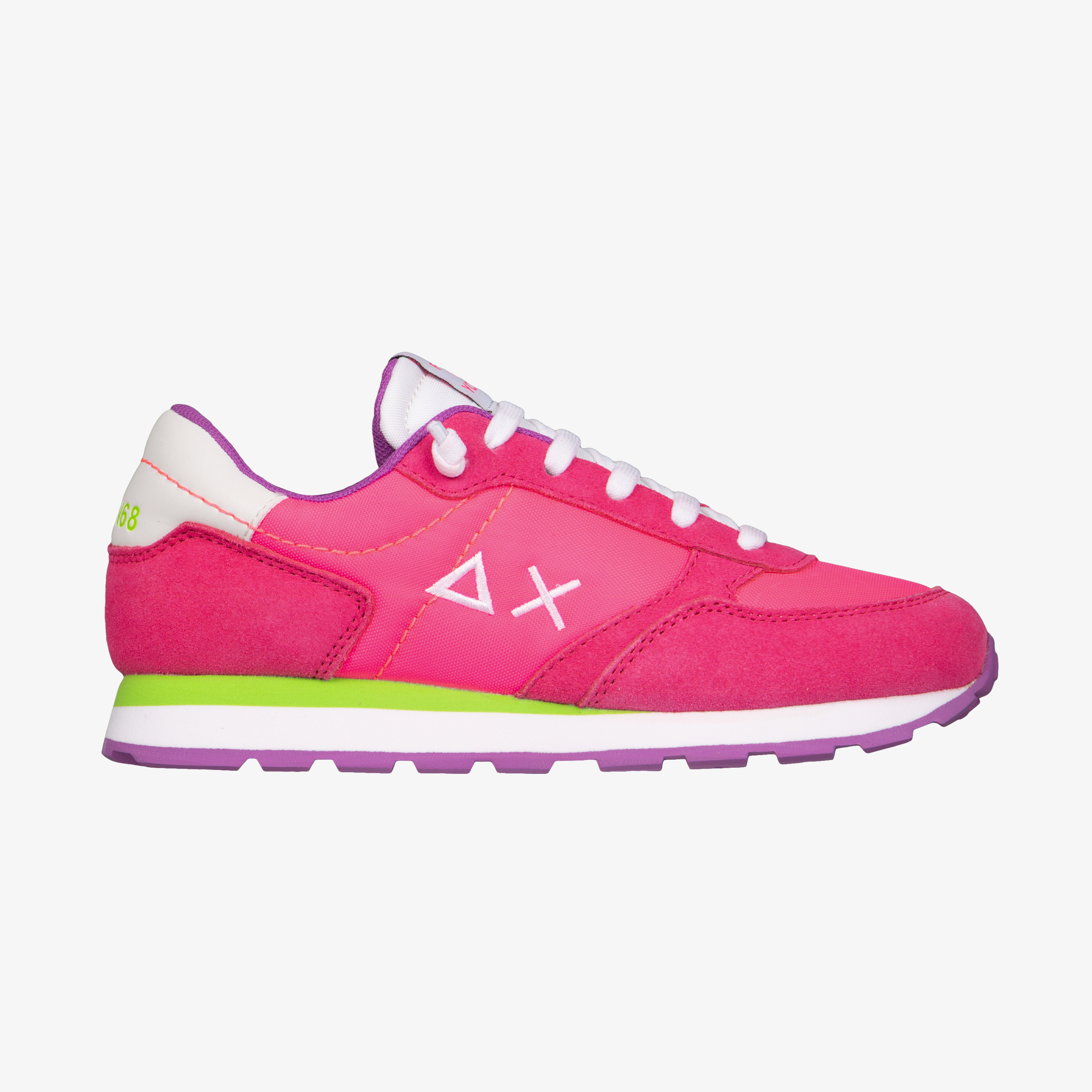 GIRL'S ALLY NYLON SOLID FUXIA FLUO