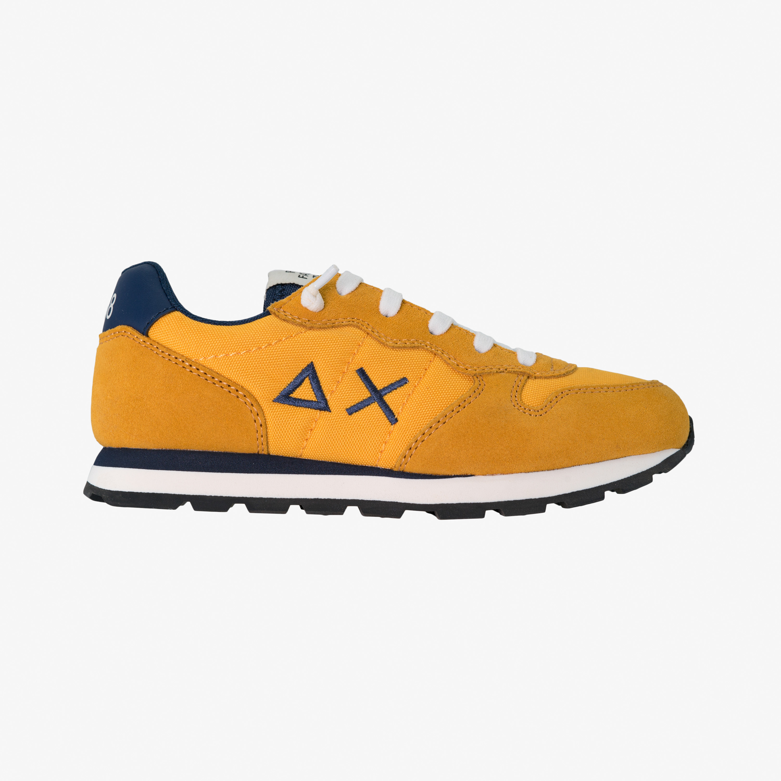 BOY'S TOM SOLID NYLON YELLOW/NAVY BLUE