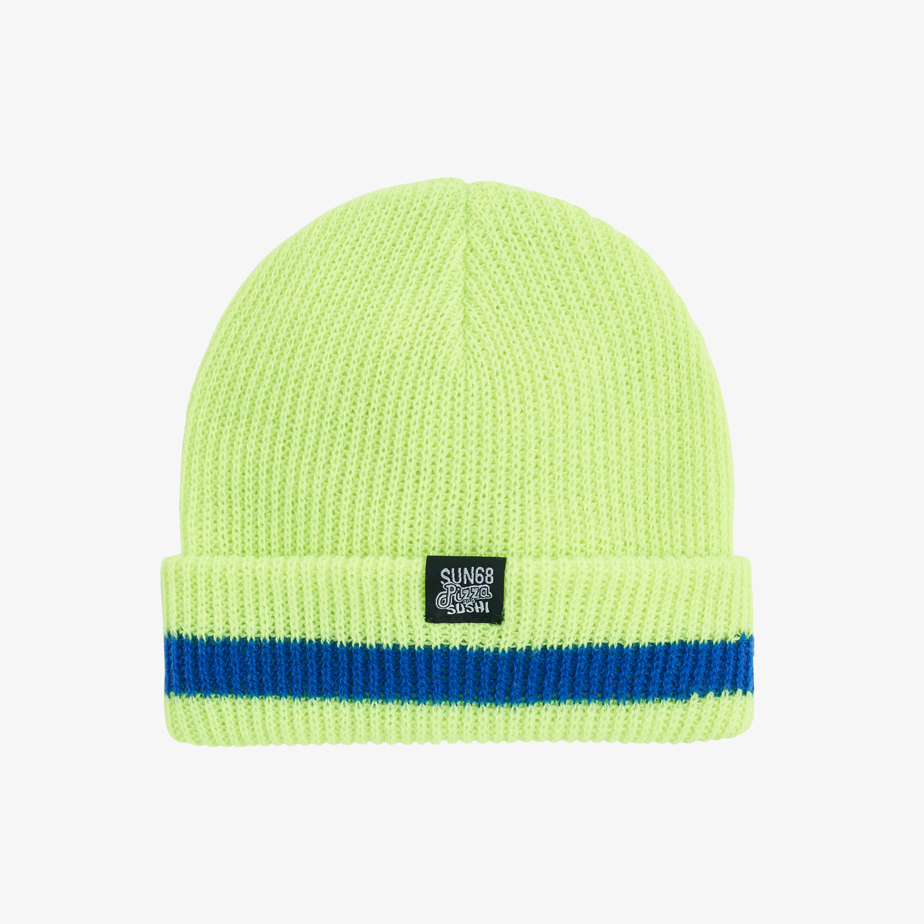 BOY'S CAP SOLID FLUO DETAILS GIALLO FLUO