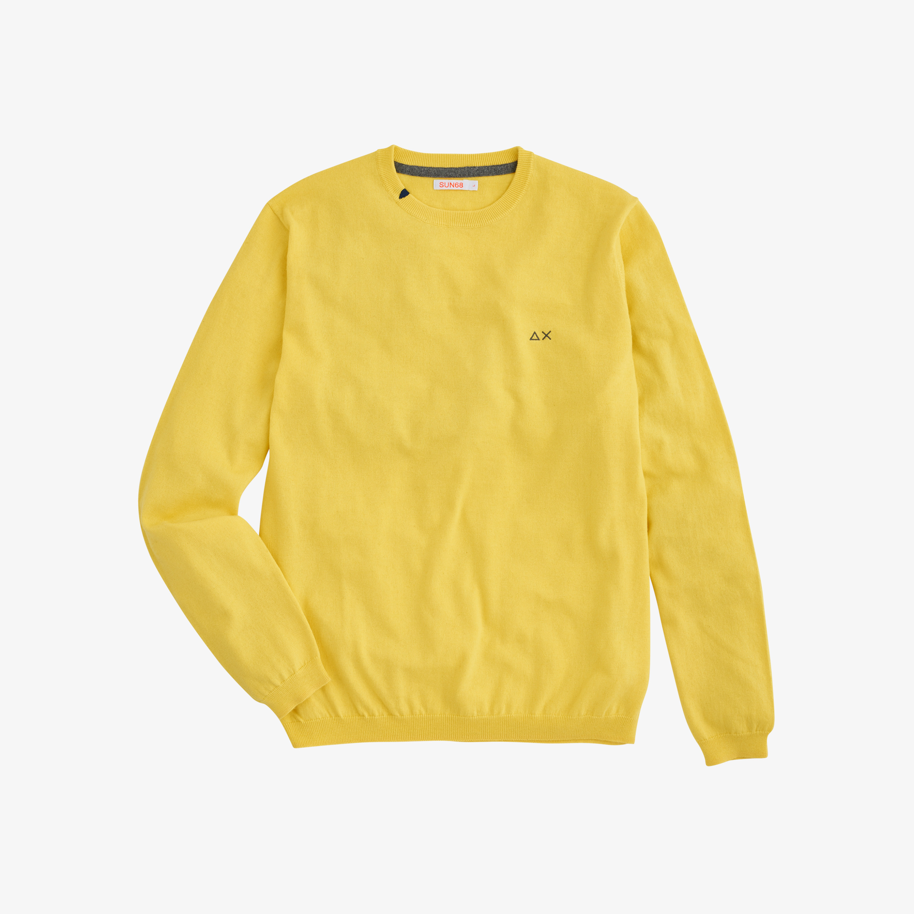 BOY'S ROUND NECK SOLID YELLOW