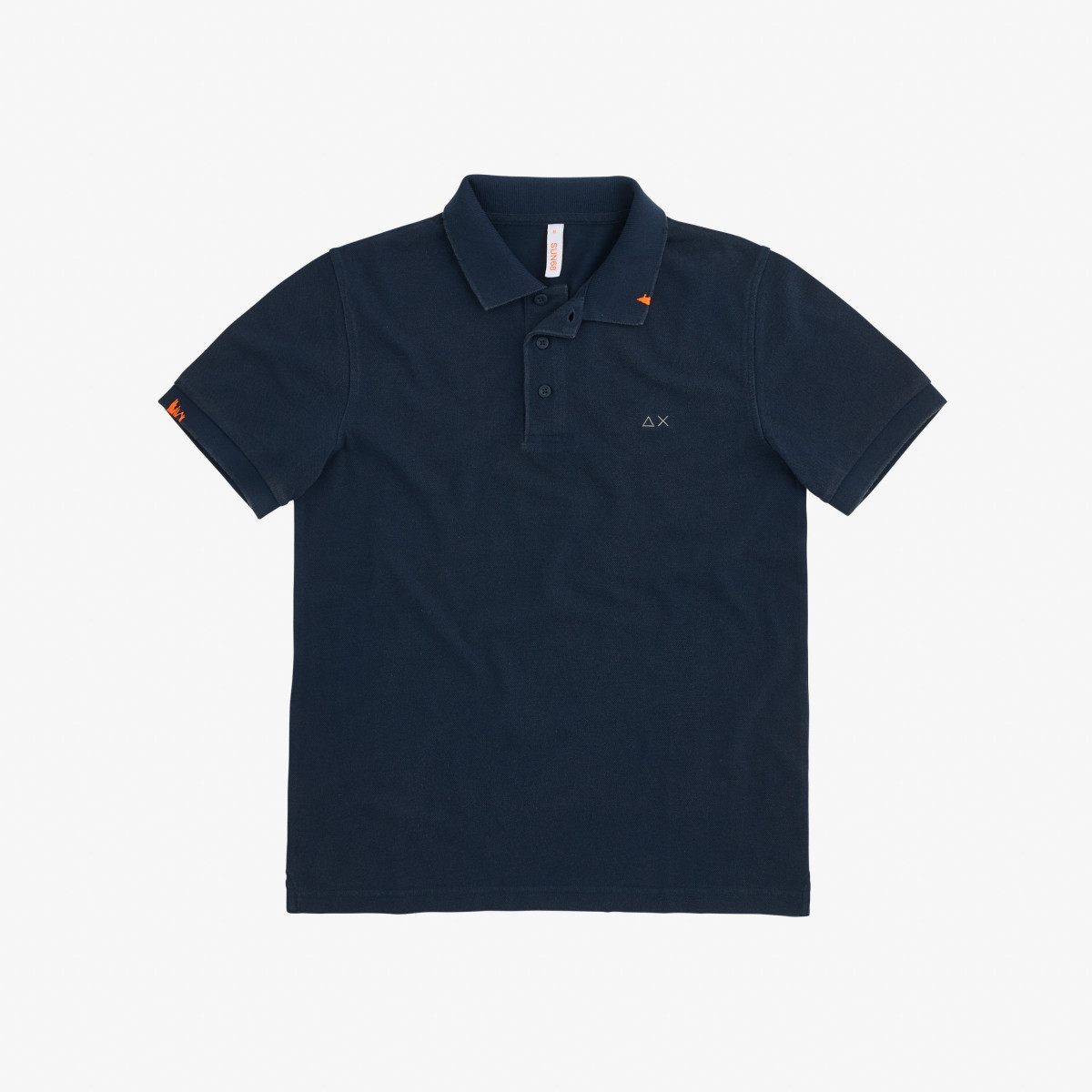 POLO VINTAGE SOLID NAVY BLUE