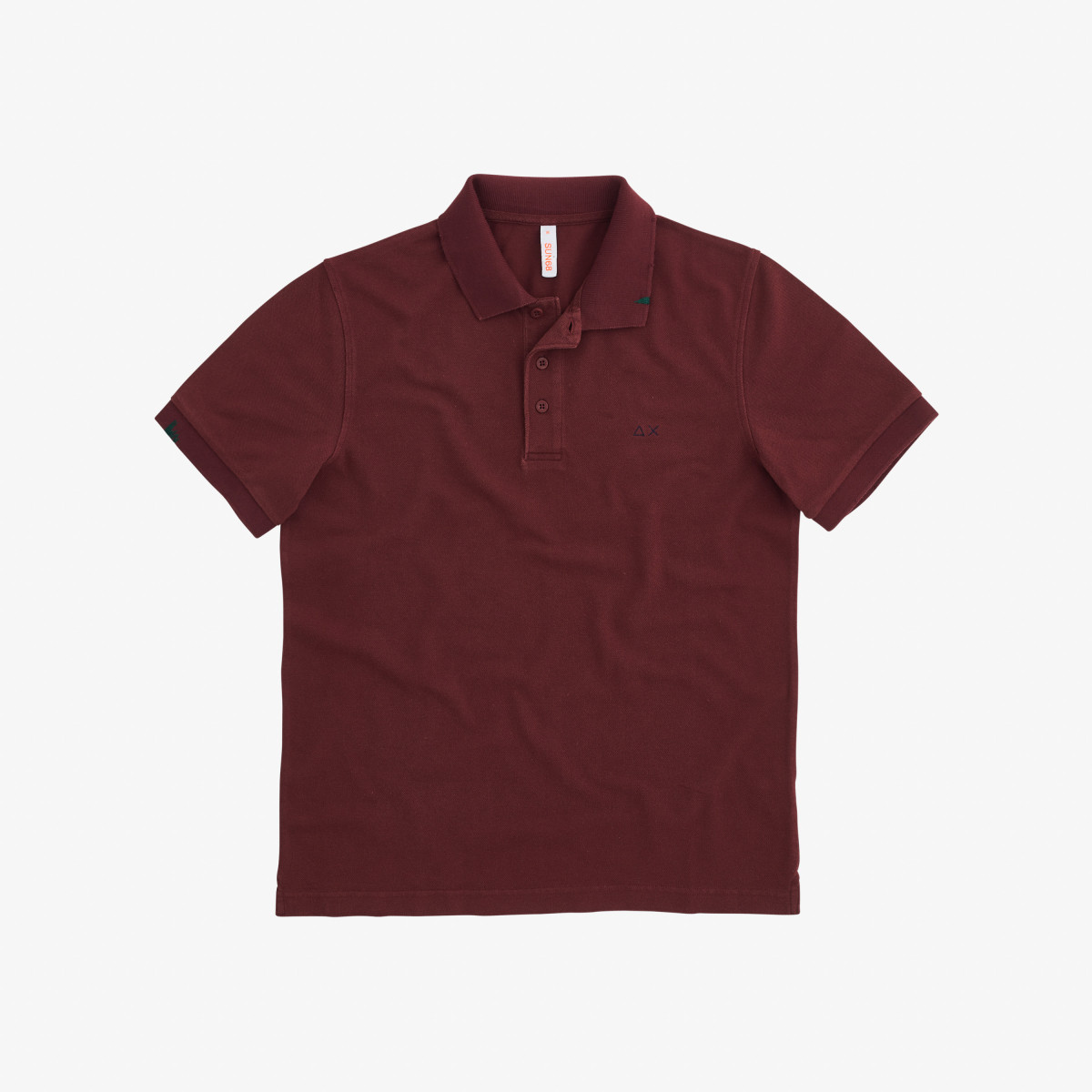 POLO VINTAGE SOLID BORDEAUX