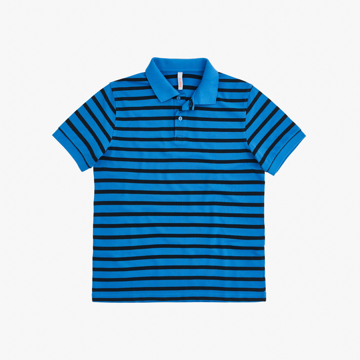 POLO COLD DYE STRIPES EL. BLUE
