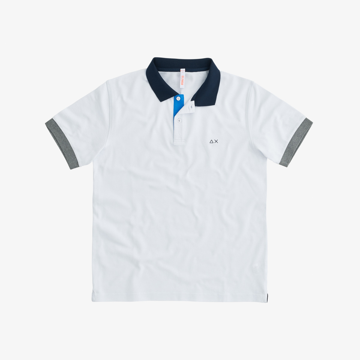 POLO 3 COLOR WAY EL. BIANCO