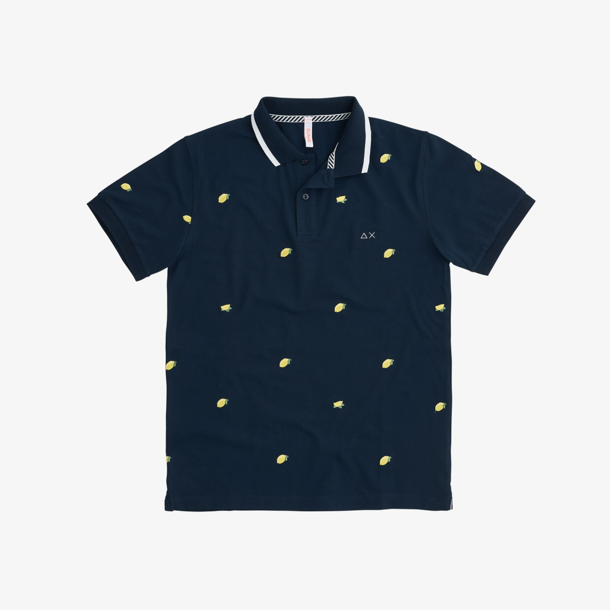 POLO FULL EMBRODERY EL. NAVY BLUE